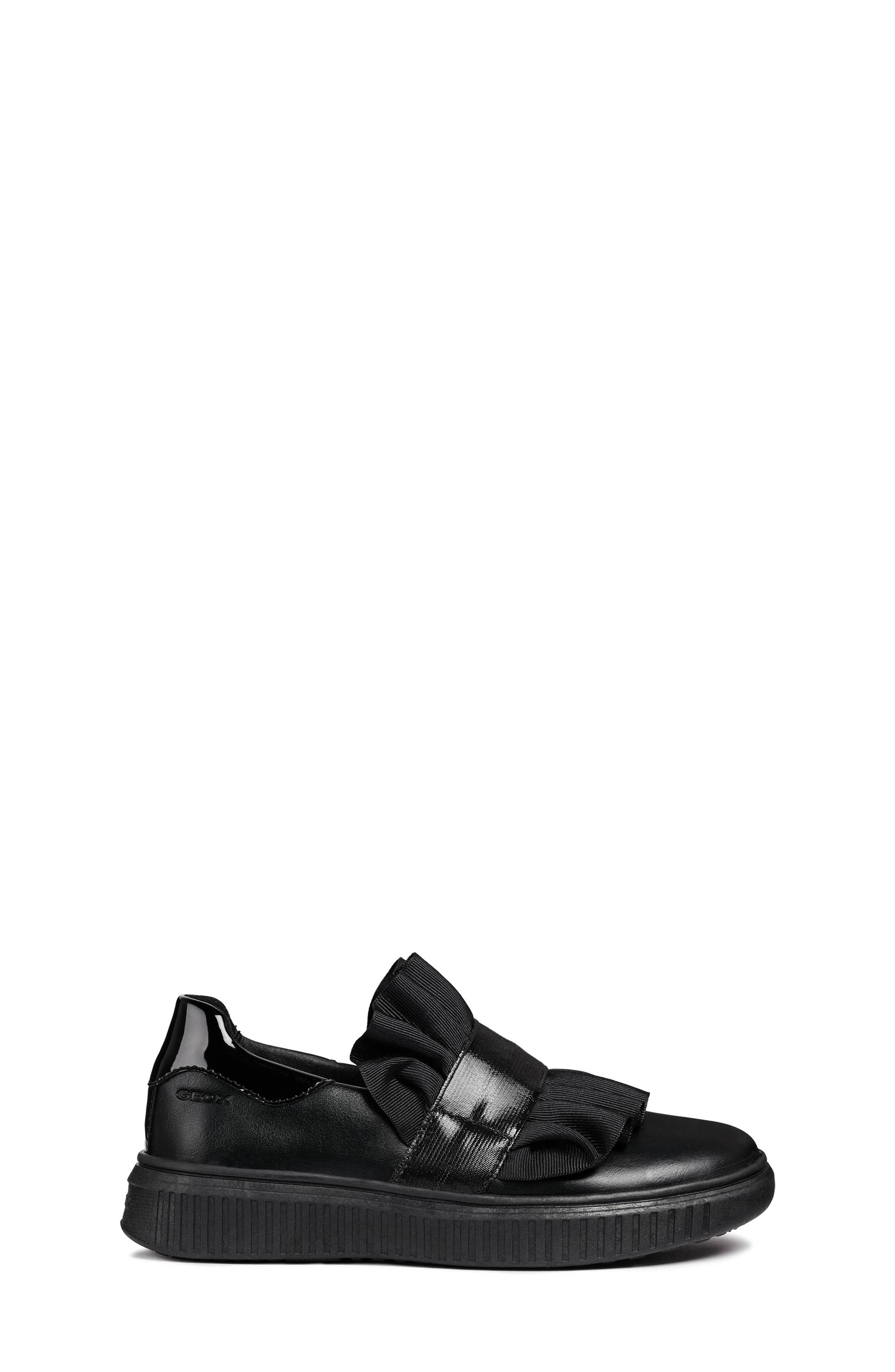 Disco Mix Slip-On Sneaker,                             Alternate thumbnail 6, color,                             BLACK