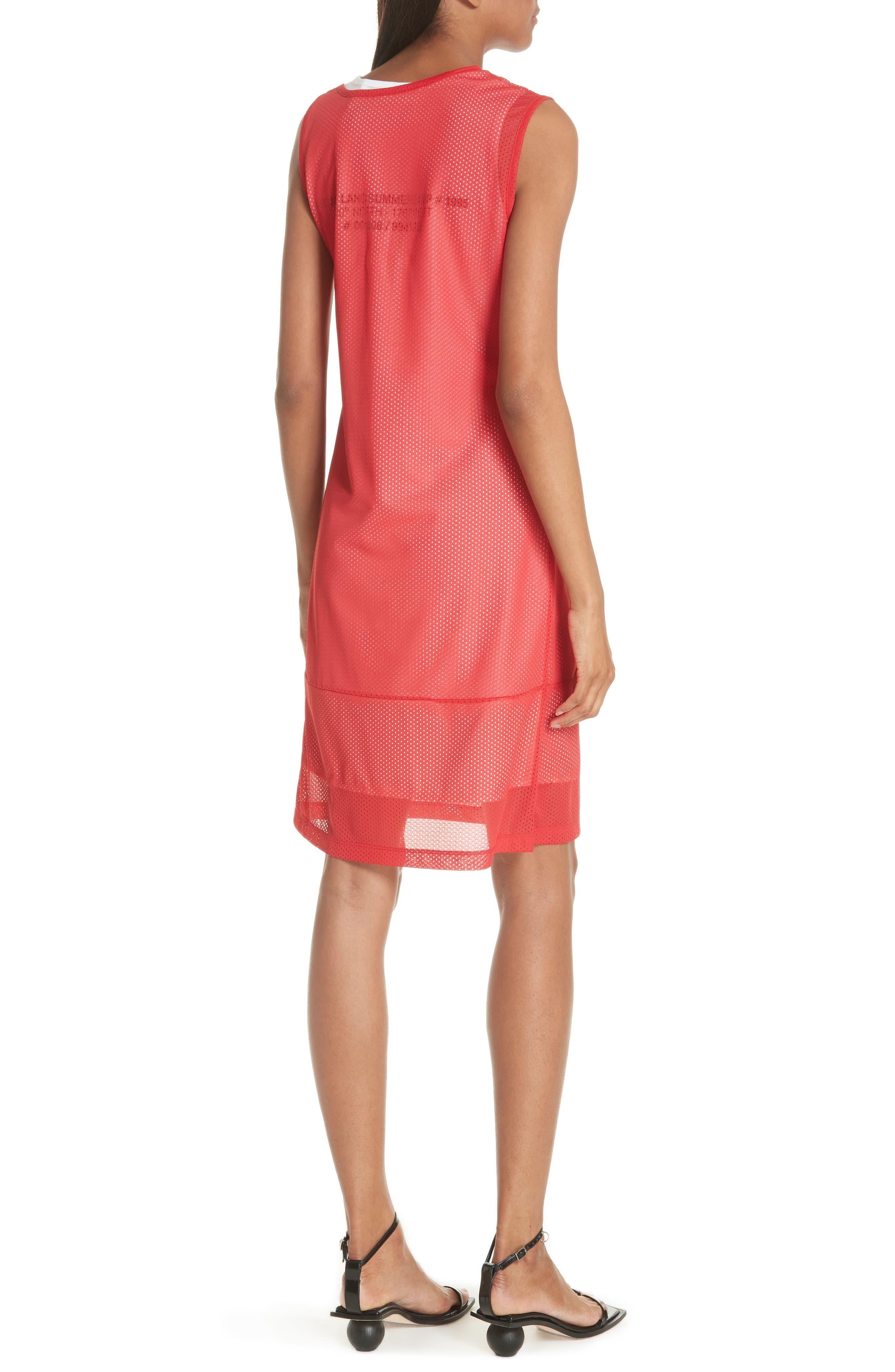 Mesh Layer Dress,                             Alternate thumbnail 2, color,                             601
