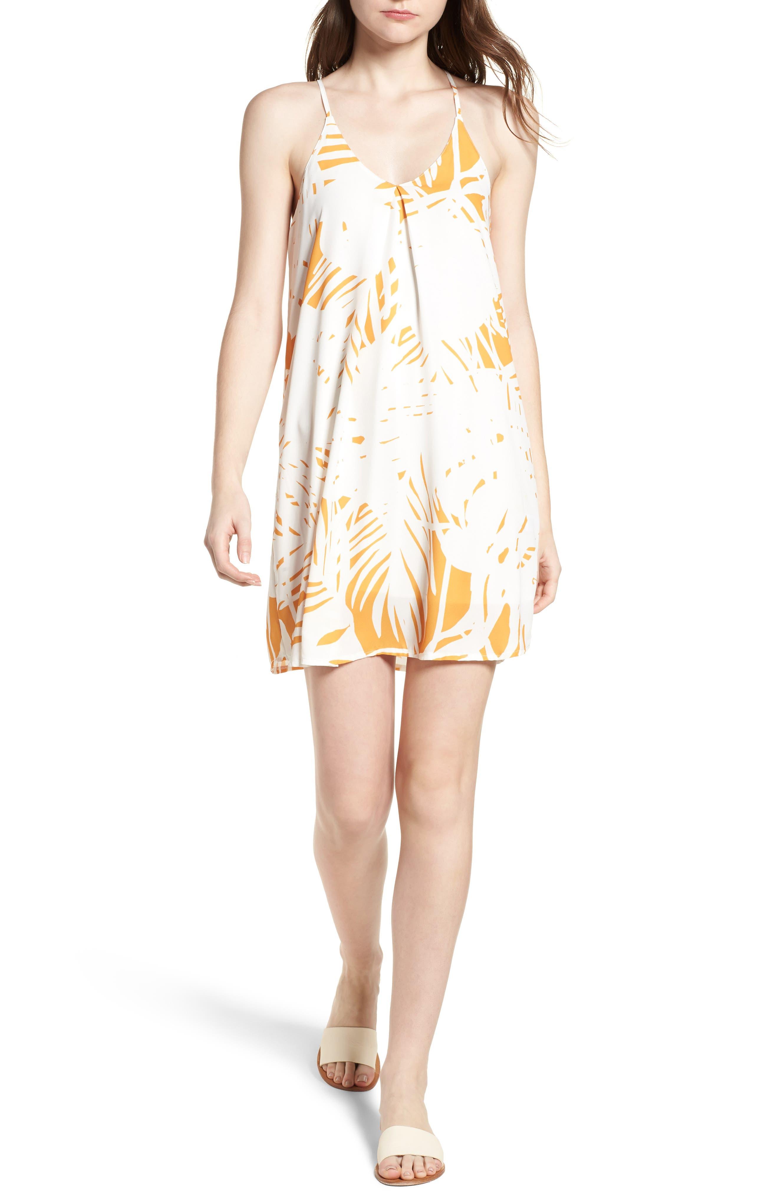 Bishop + Young Print Racerback Dress,                         Main,                         color, 742