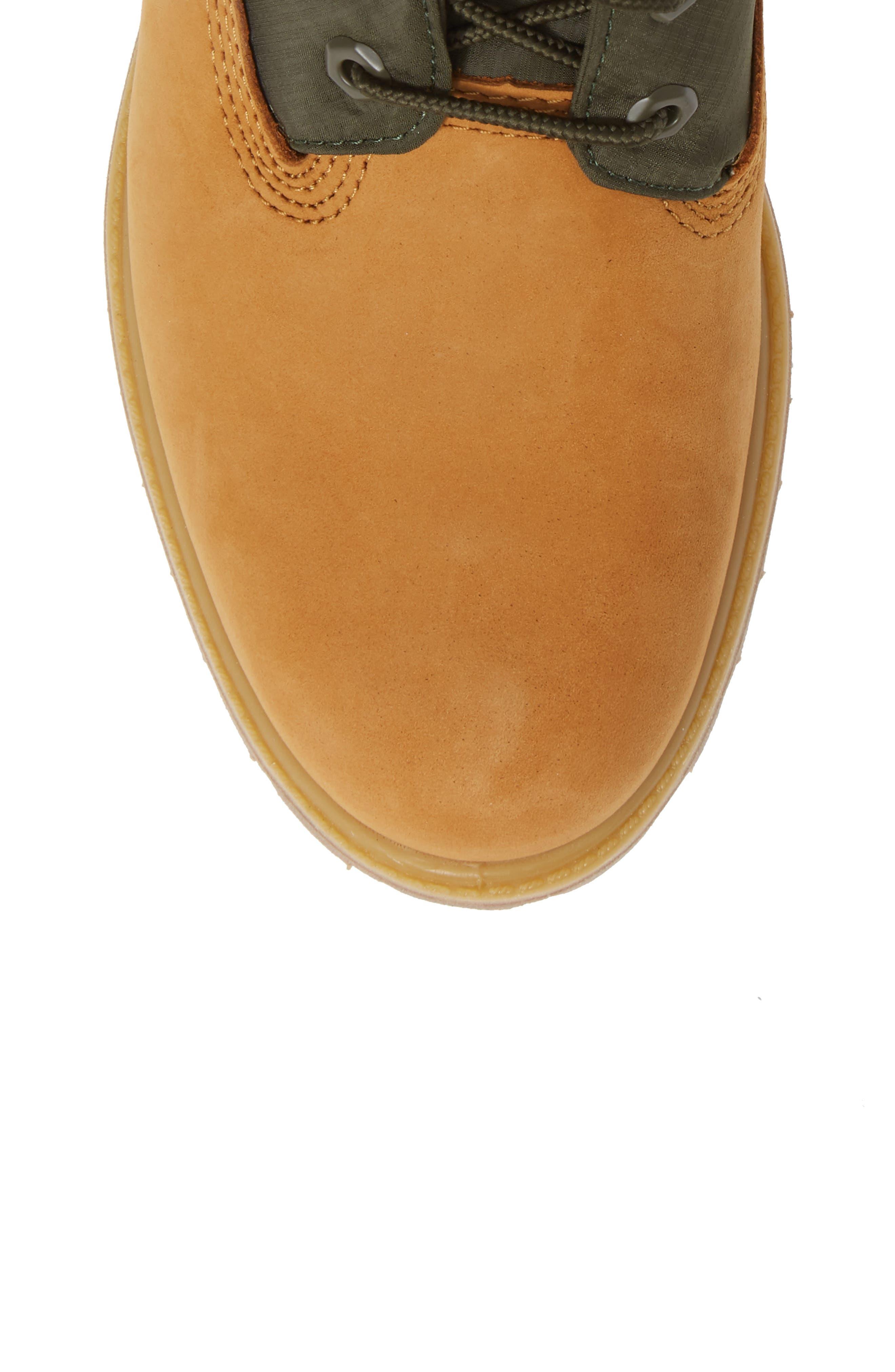 TIMBERLAND,                             Premium Gaiter Plain Toe Boot,                             Alternate thumbnail 5, color,                             231