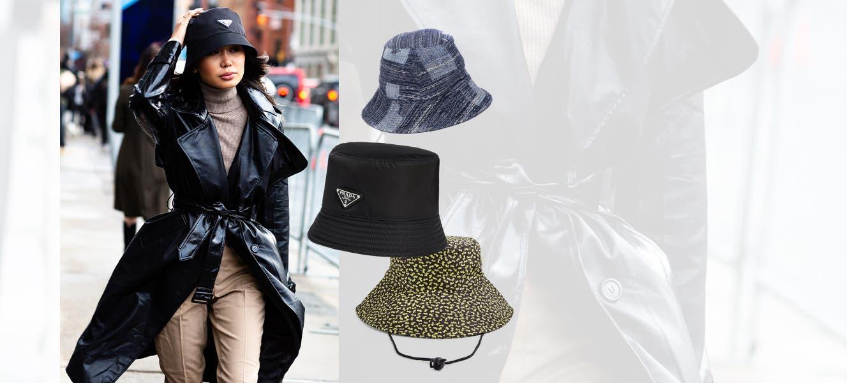 The lowdown at FW20 New York Fashion Week: the bucket hat.