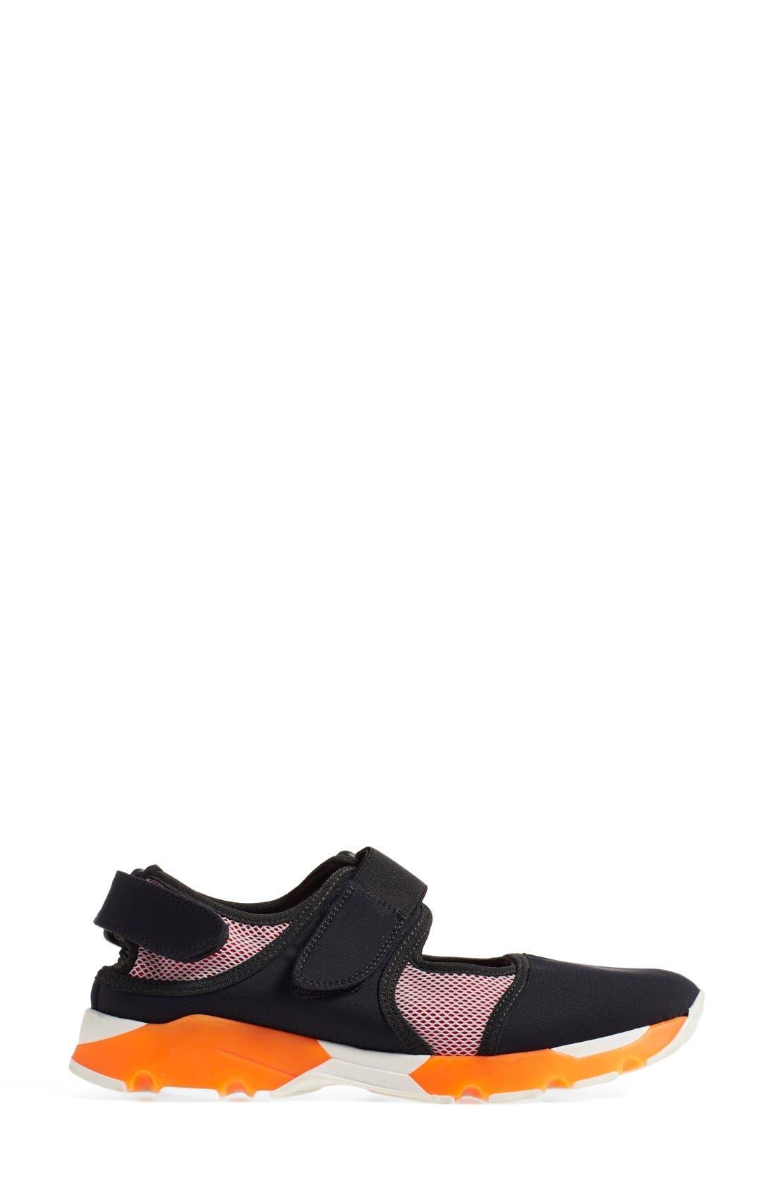 Mary Jane Sneaker,                             Alternate thumbnail 3, color,                             020