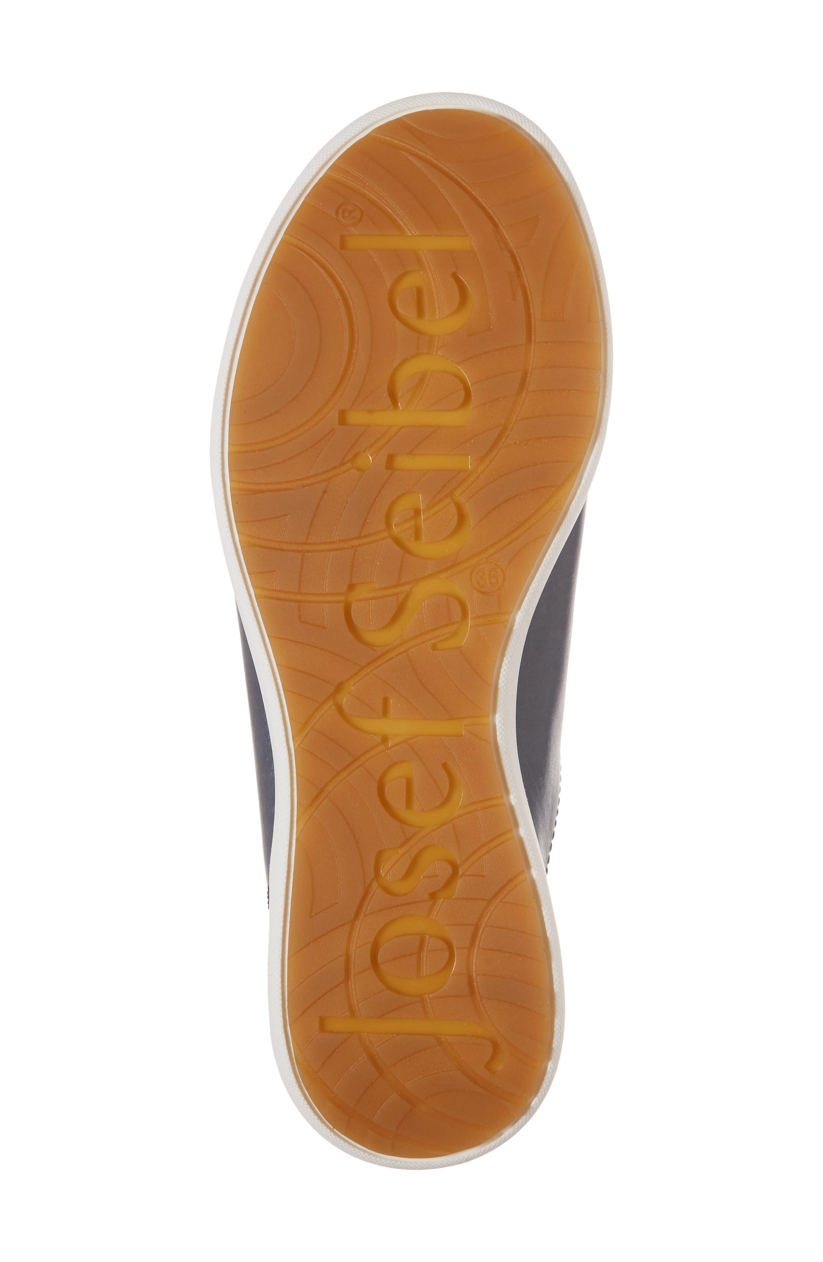 Sina 11 Sneaker,                             Alternate thumbnail 6, color,                             DENIM LEATHER
