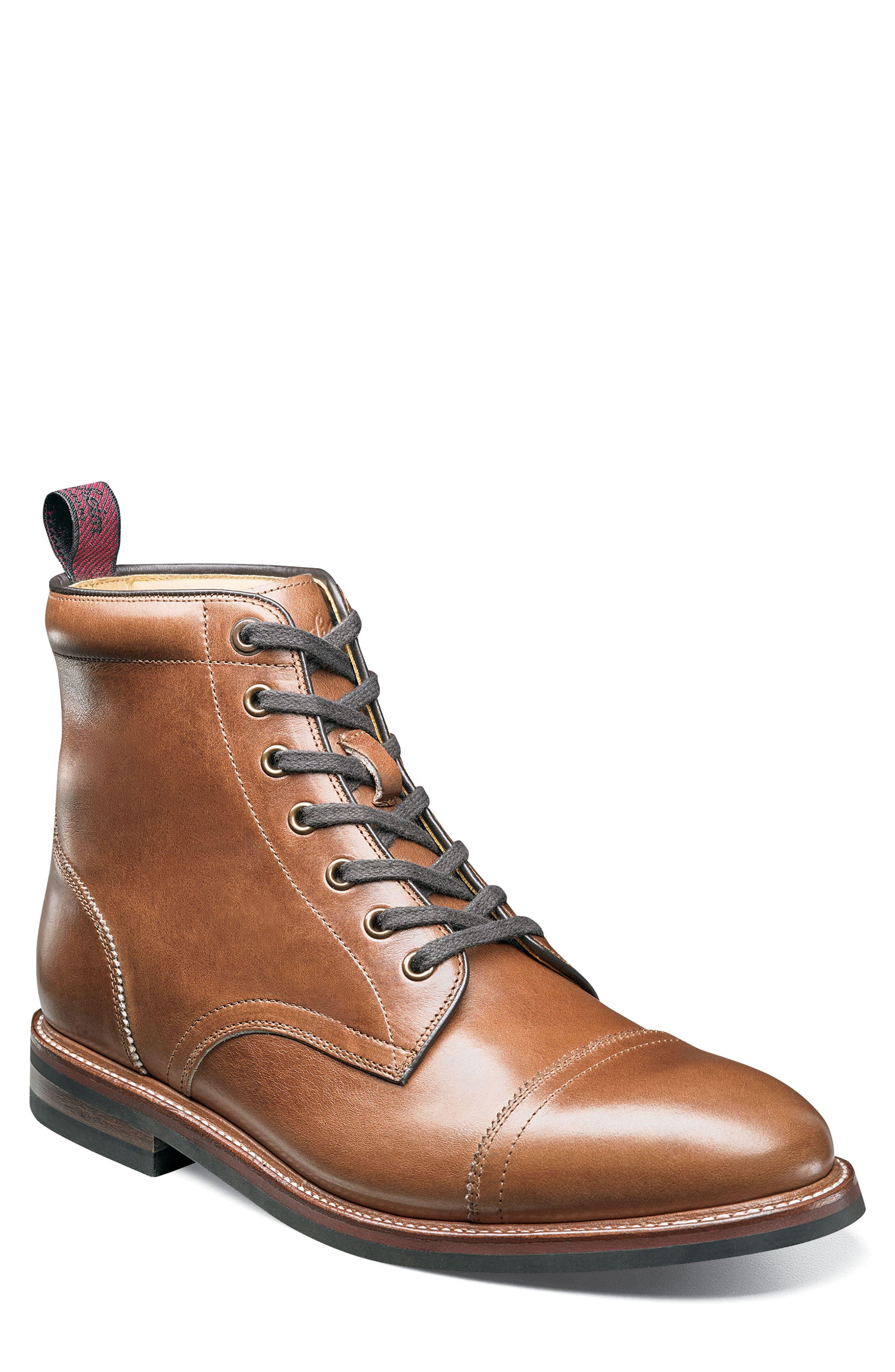 Florsheim Founcry Cap Toe Boot, Brown