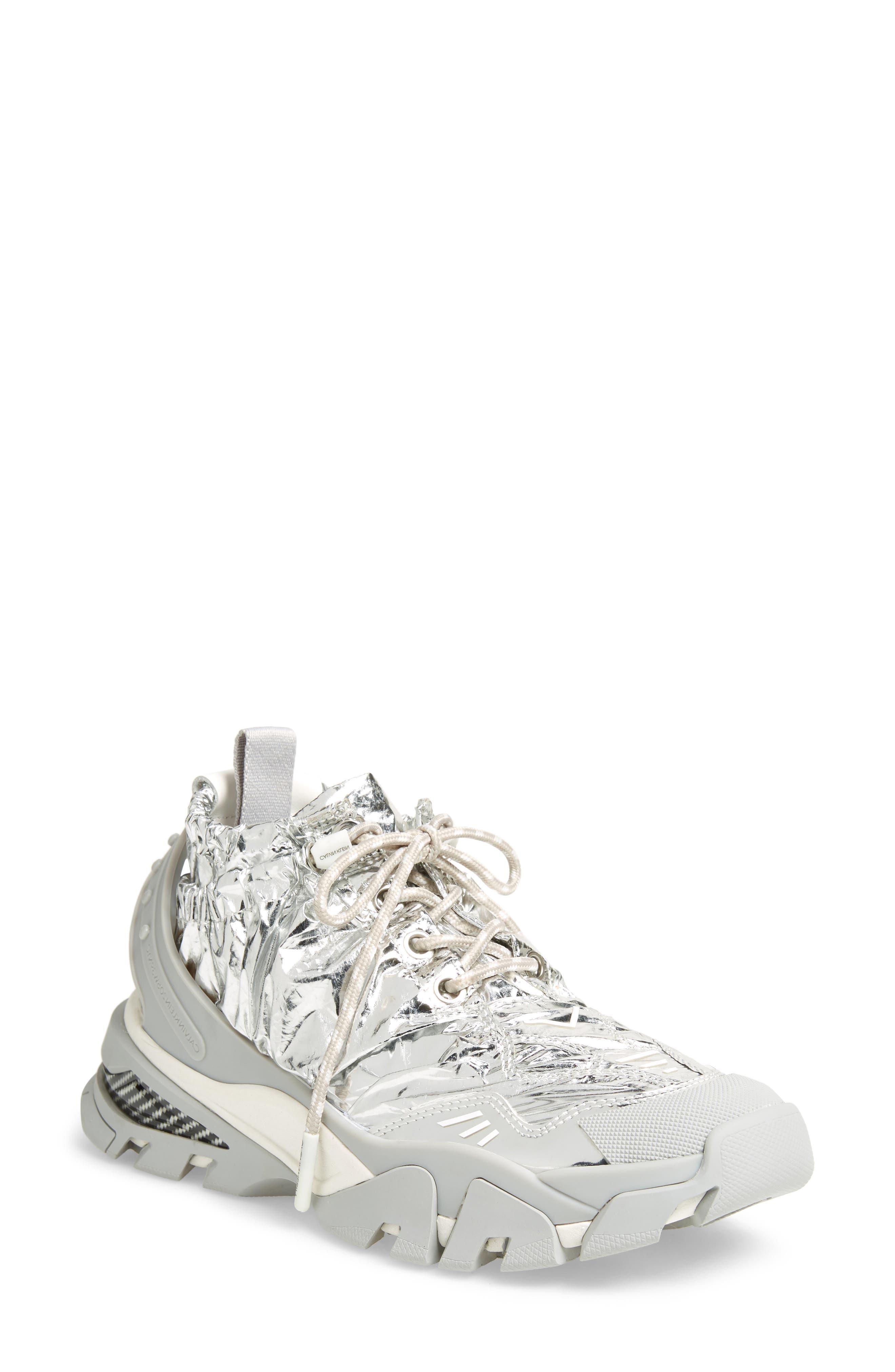 Caramene Sneaker,                         Main,                         color, GREY/ WHITE