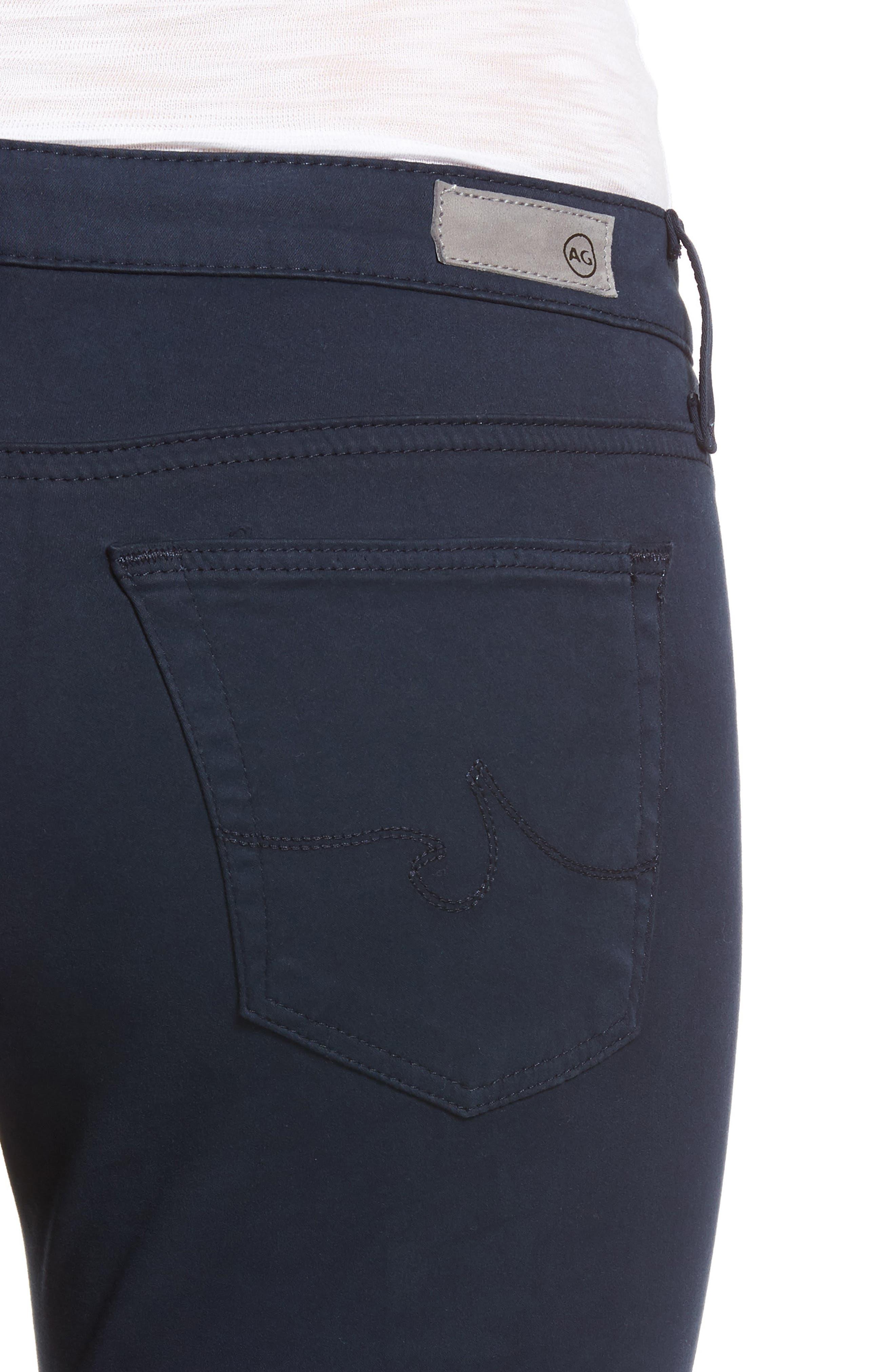 The Legging Ankle Jeans,                             Alternate thumbnail 4, color,                             BLUE NIGHT