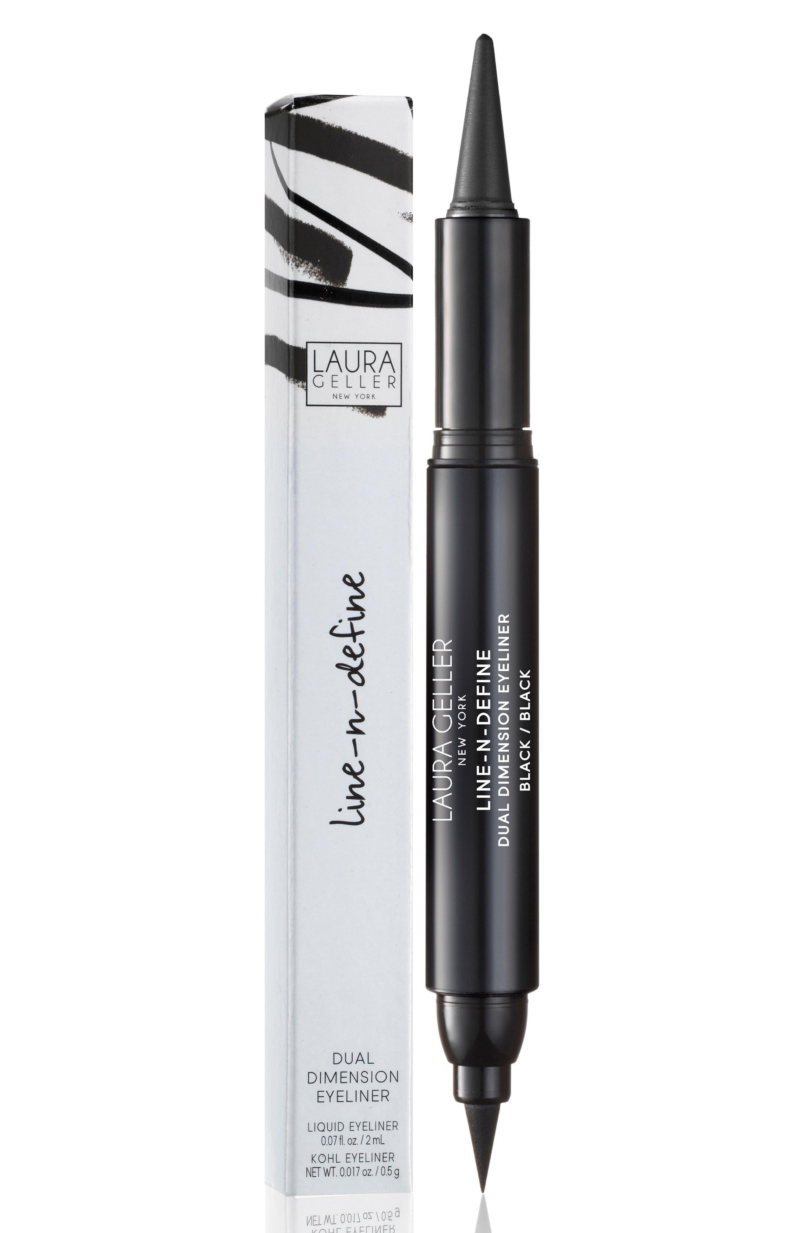 Line-N-Define Dual Dimension Eyeliner,                             Alternate thumbnail 2, color,                             BLACK