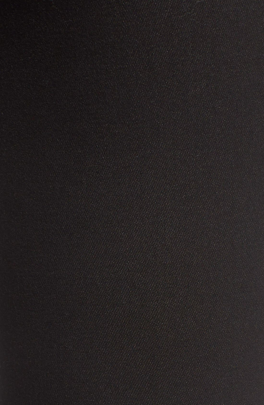 Florence Instasculpt Crop Skinny Jeans,                             Alternate thumbnail 6, color,                             HAIL