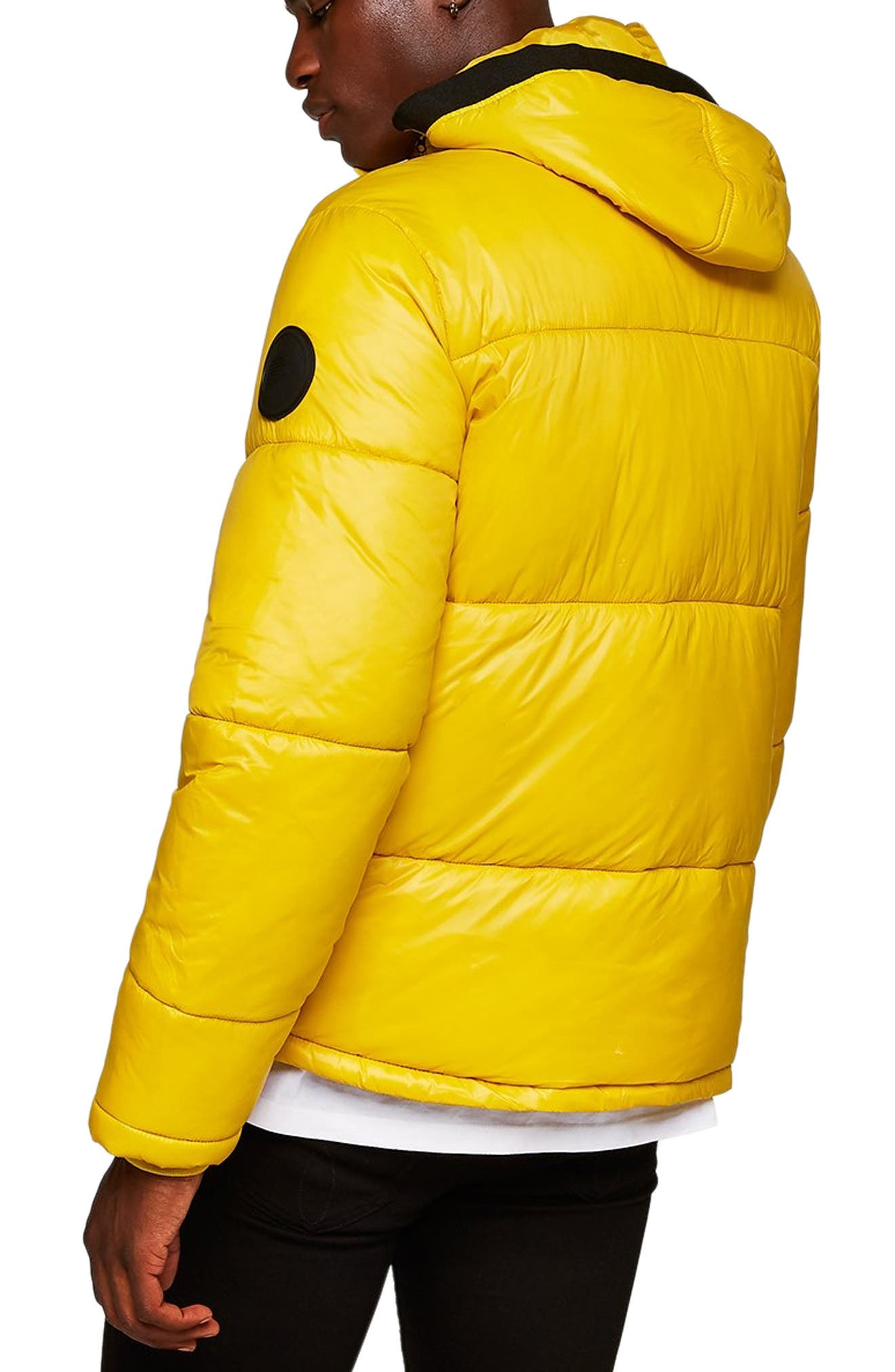 Capi Classic Fit Puffer Jacket,                             Alternate thumbnail 2, color,                             YELLOW
