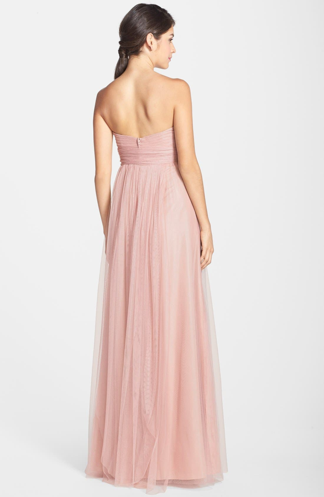 Annabelle Convertible Tulle Column Dress,                             Alternate thumbnail 104, color,
