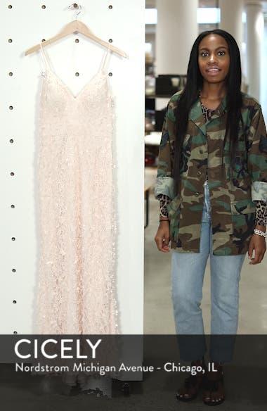 Floral Appliqué Lace Gown, sales video thumbnail