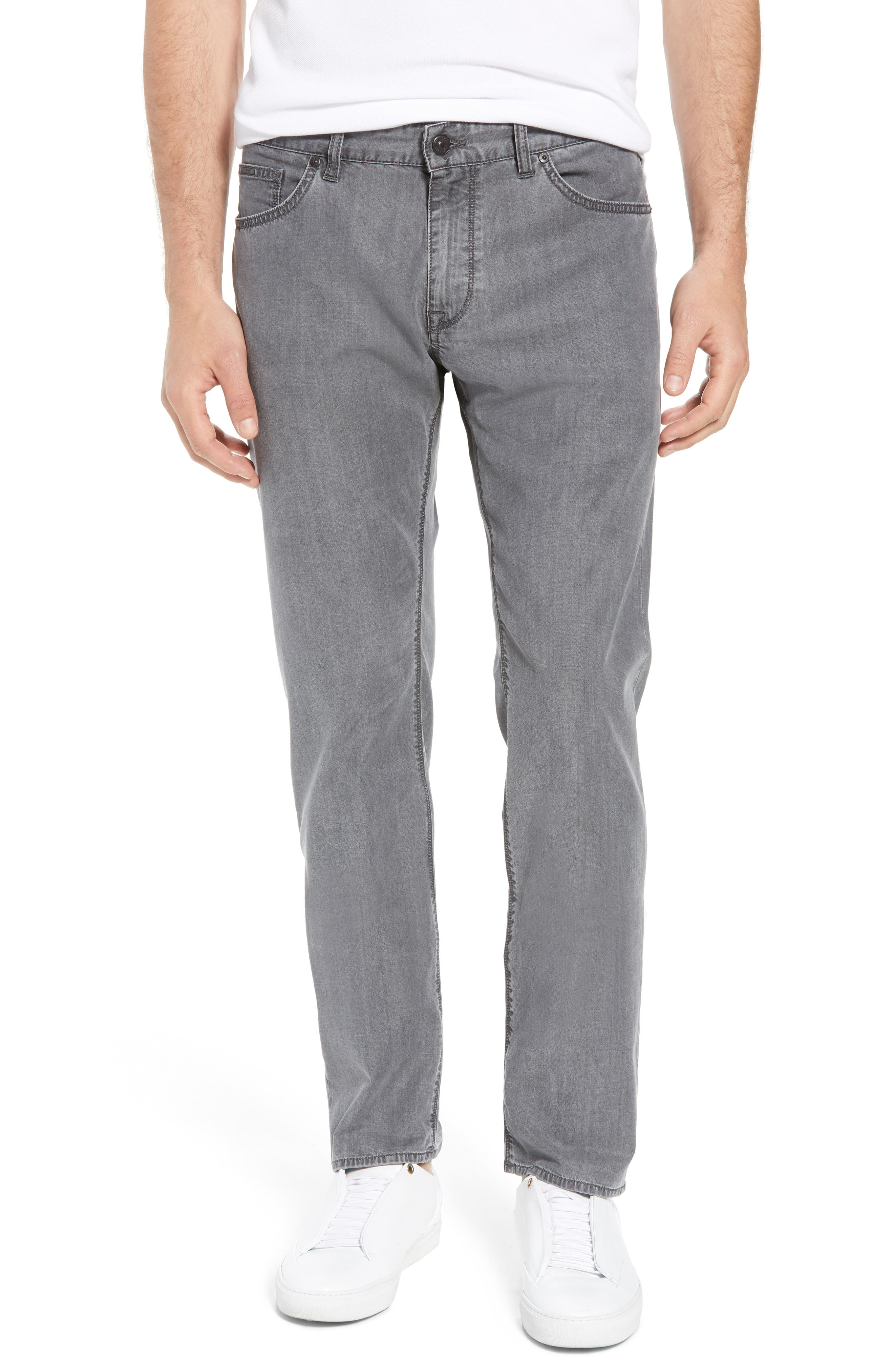 Maine Classic Fit Jeans,                             Main thumbnail 1, color,                             GREY