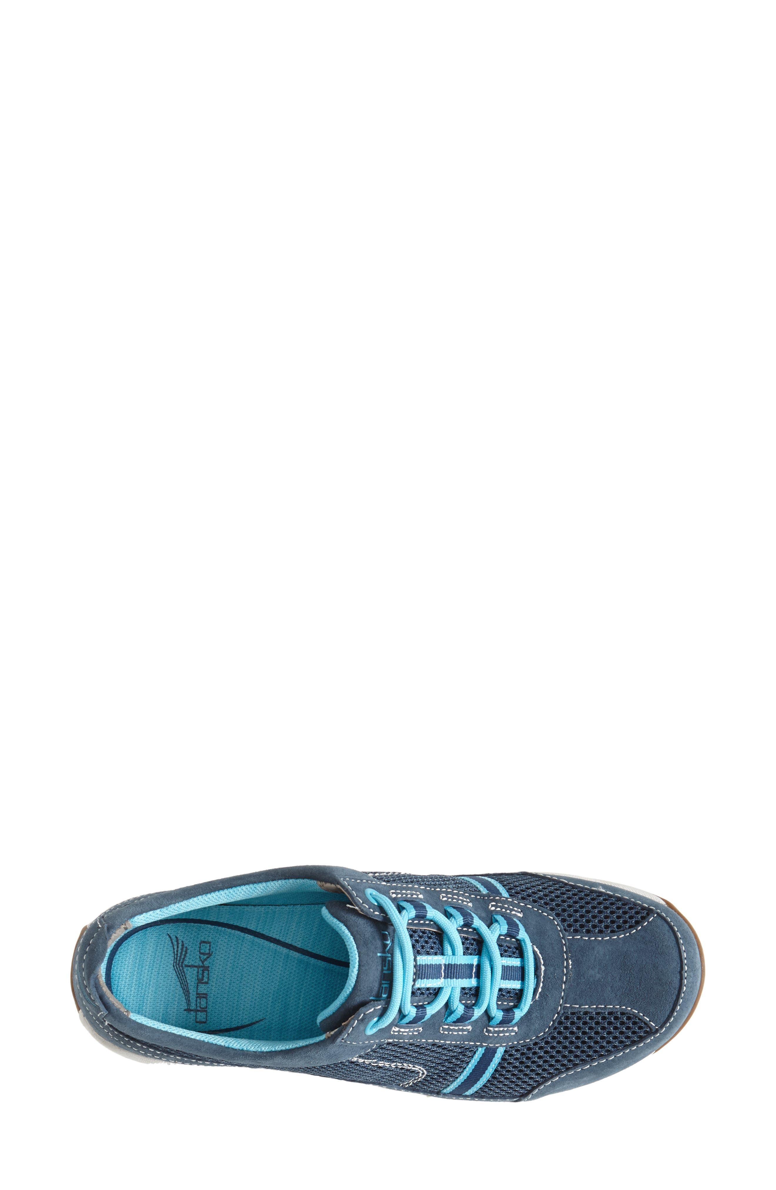 'Helen' Suede & Mesh Sneaker,                             Alternate thumbnail 26, color,