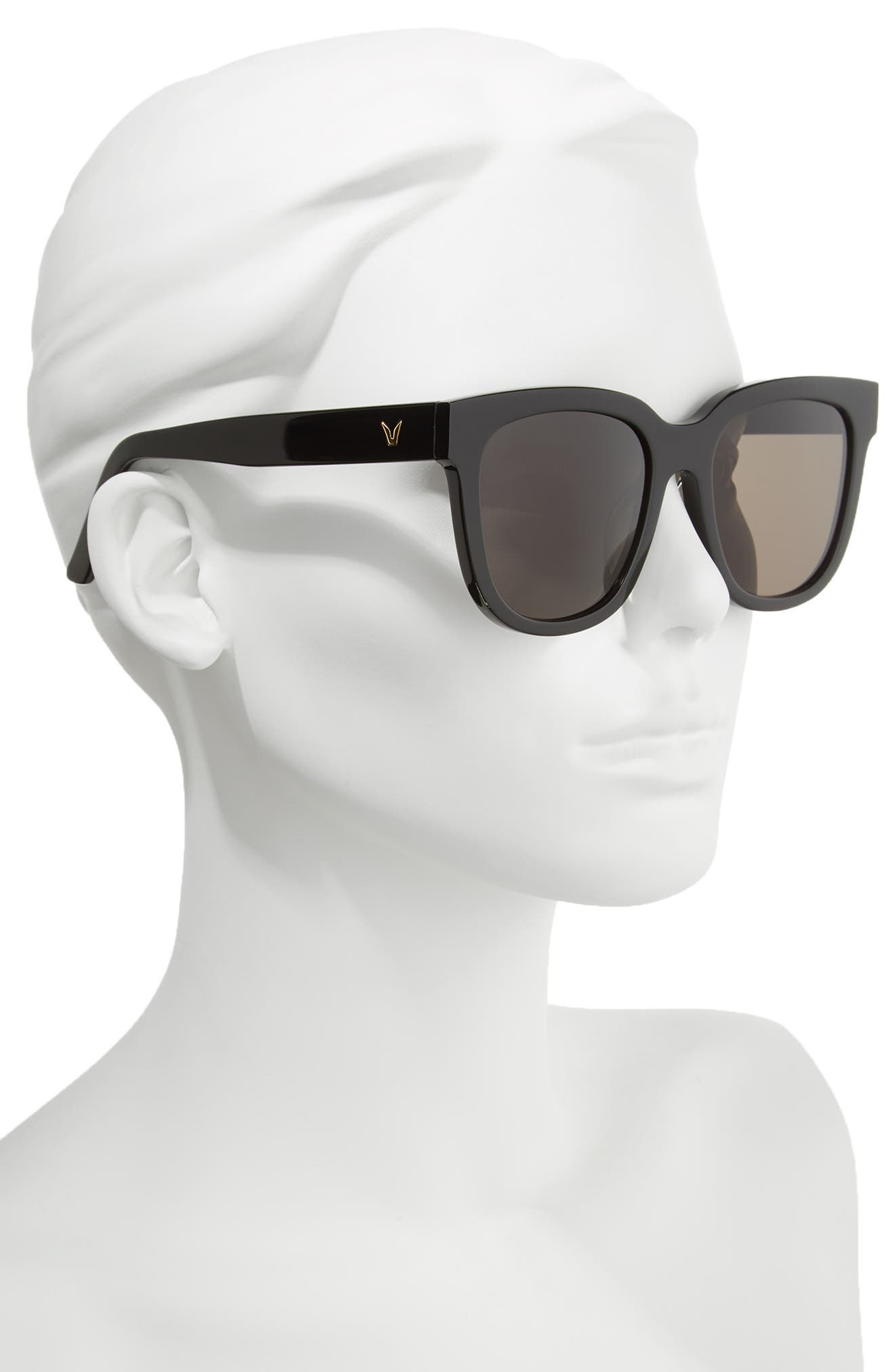 Salt 55mm Sunglasses,                             Alternate thumbnail 2, color,                             001