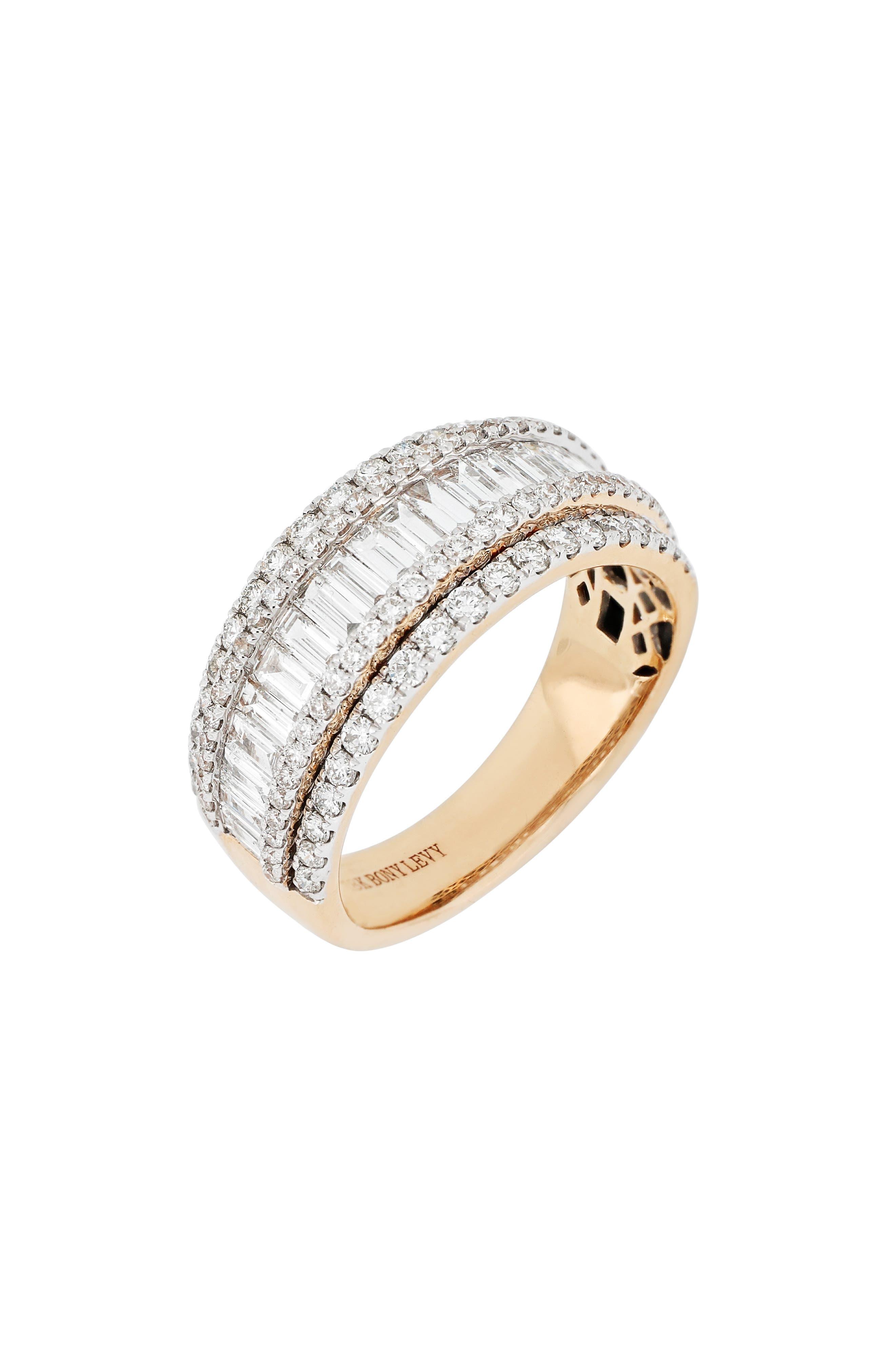 Mixed Diamond Ring,                             Main thumbnail 1, color,                             651