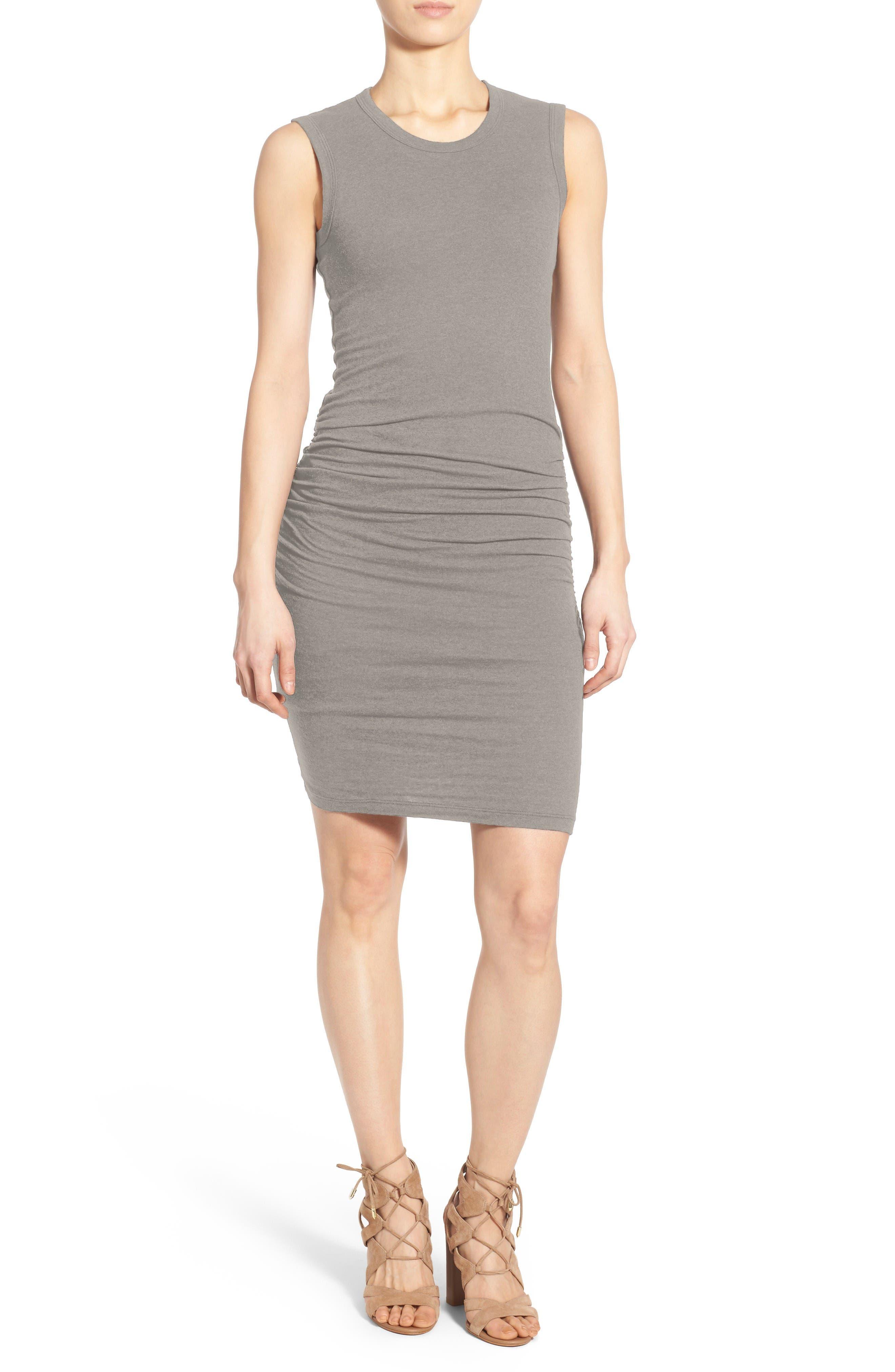 Ruched Tank Dress,                             Main thumbnail 1, color,                             085