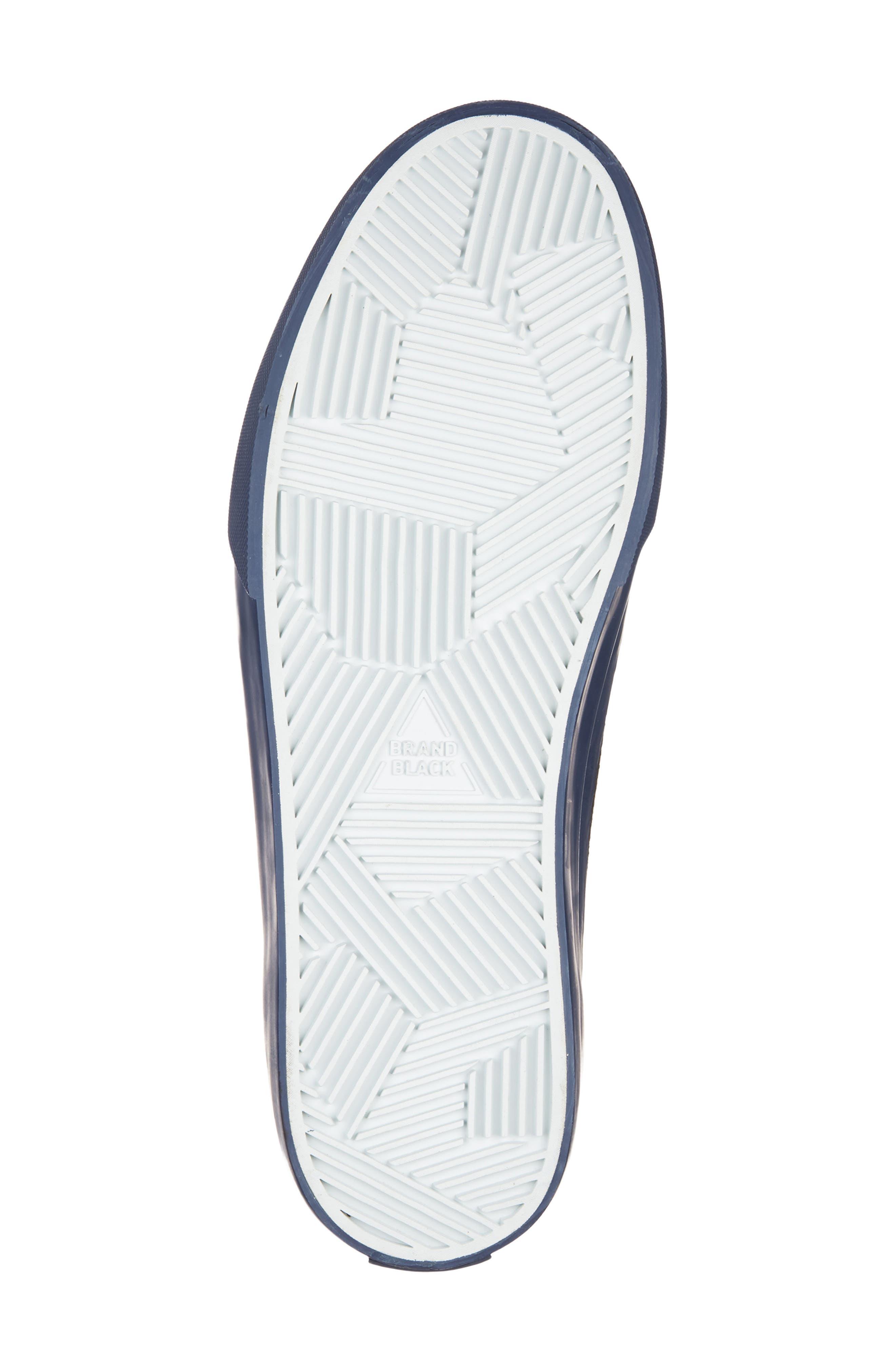 Vesta Low Top Sneaker,                             Alternate thumbnail 6, color,                             BLACK/ NAVY
