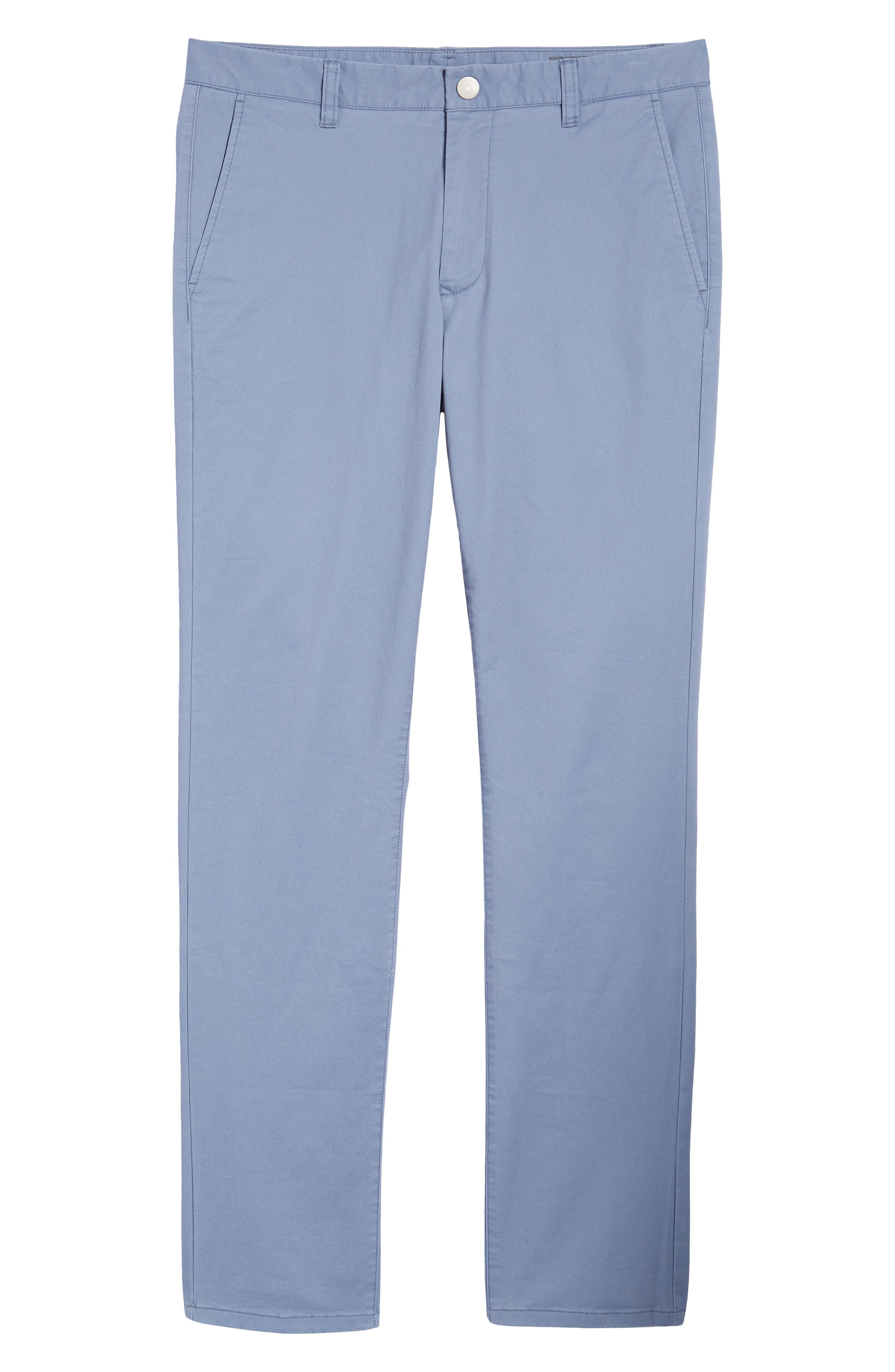 Tailored Fit Washed Stretch Cotton Chinos,                             Alternate thumbnail 189, color,