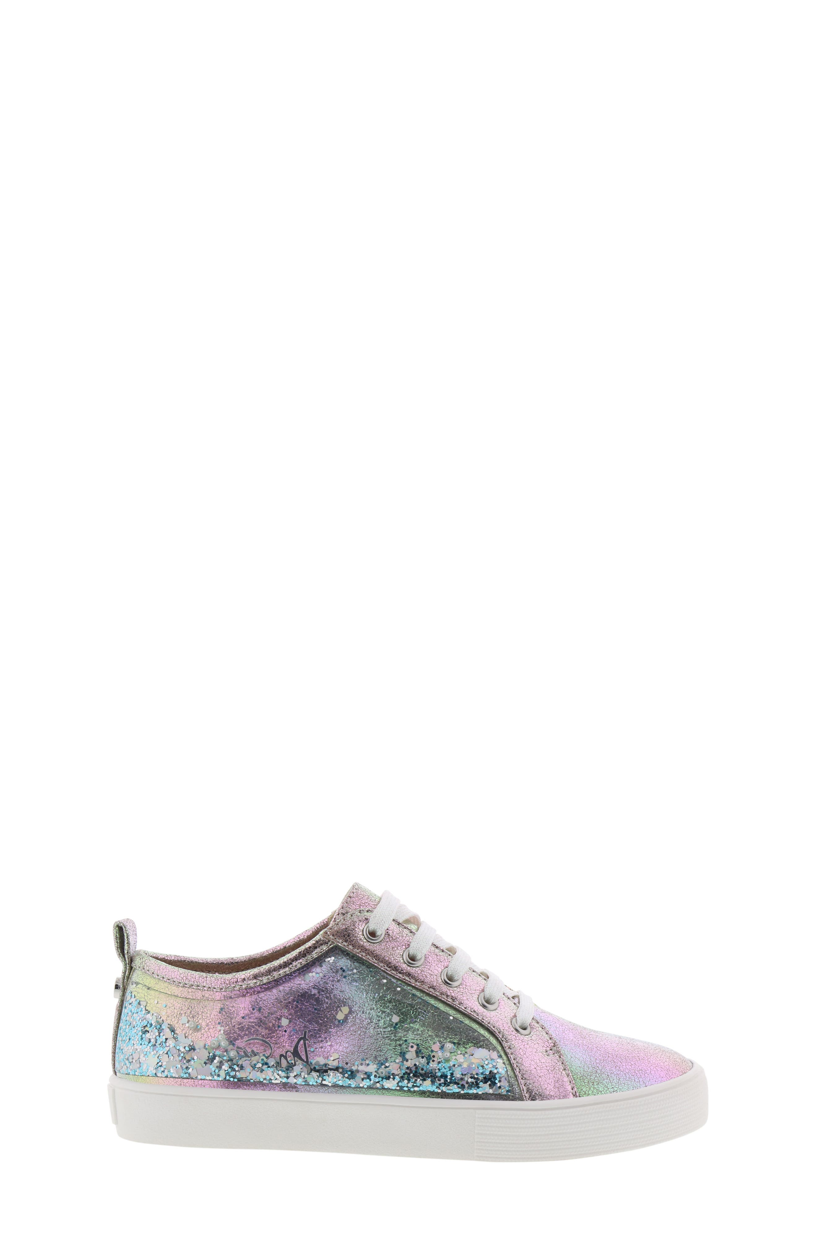 Bella Aqua Slip-On Sneaker,                             Alternate thumbnail 3, color,                             GASOLINE IRIDESCENT