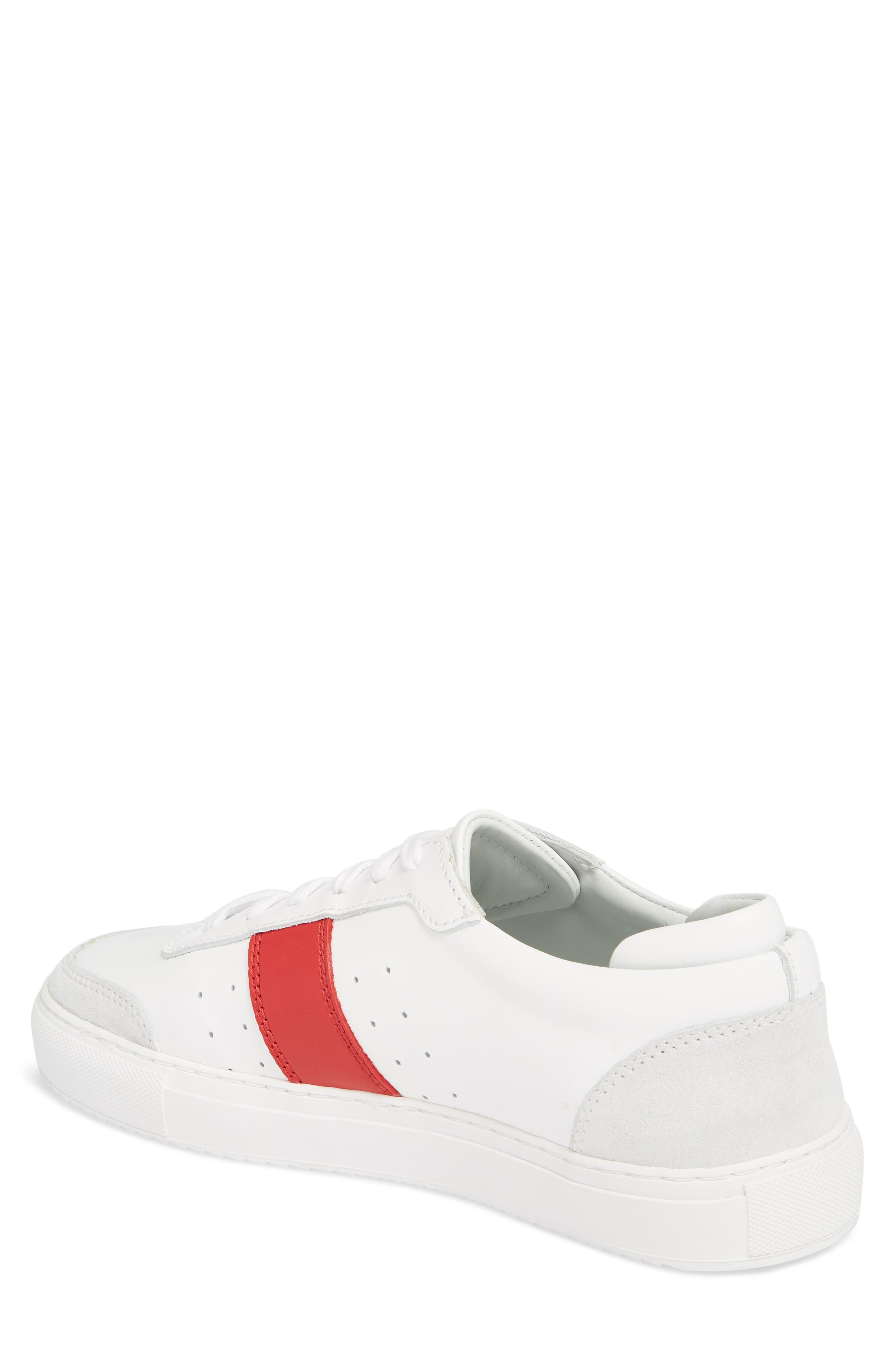 Dunk Striped Sneaker,                             Alternate thumbnail 2, color,