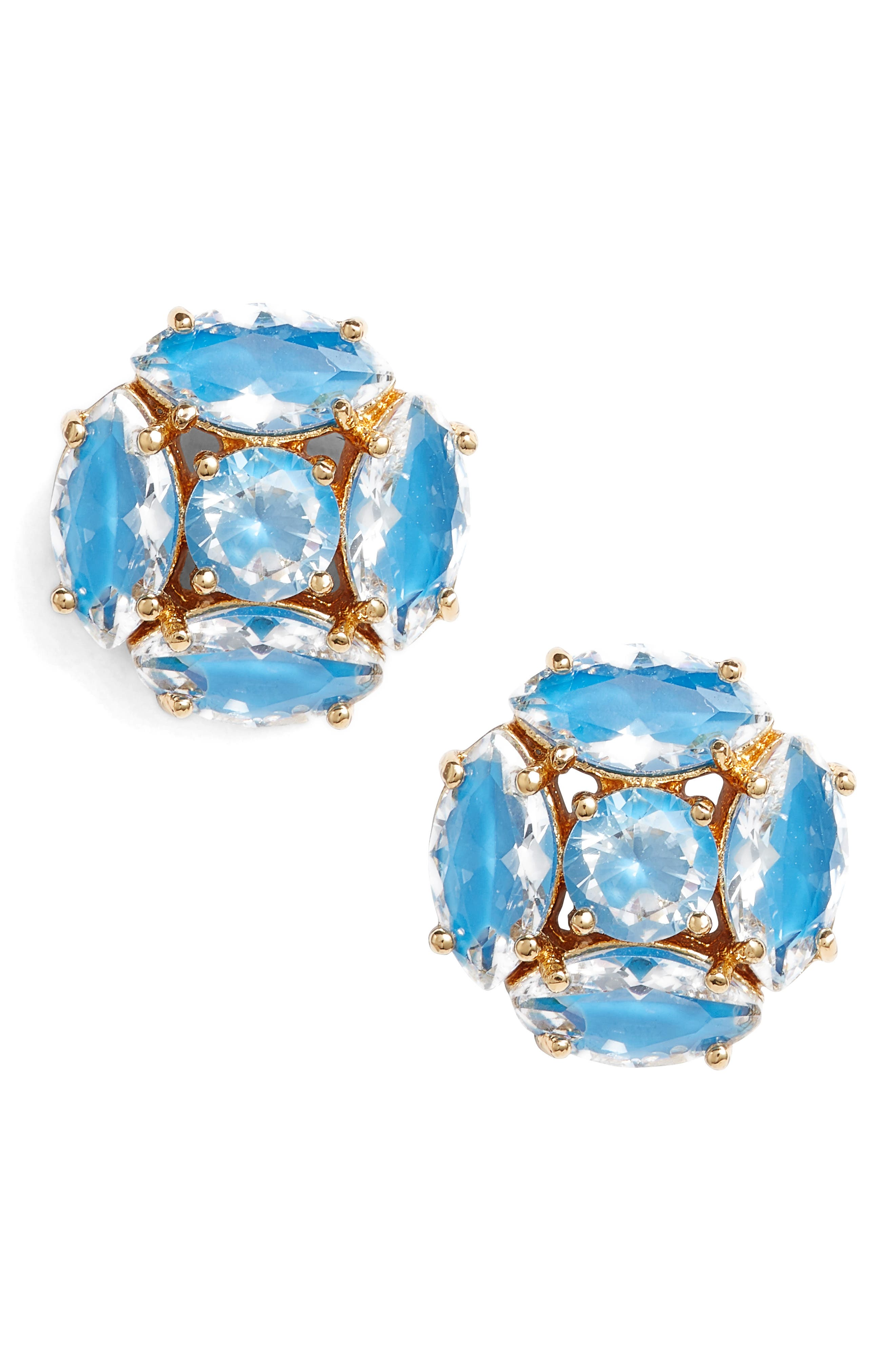 flying colors marquise cluster earrings,                             Main thumbnail 2, color,