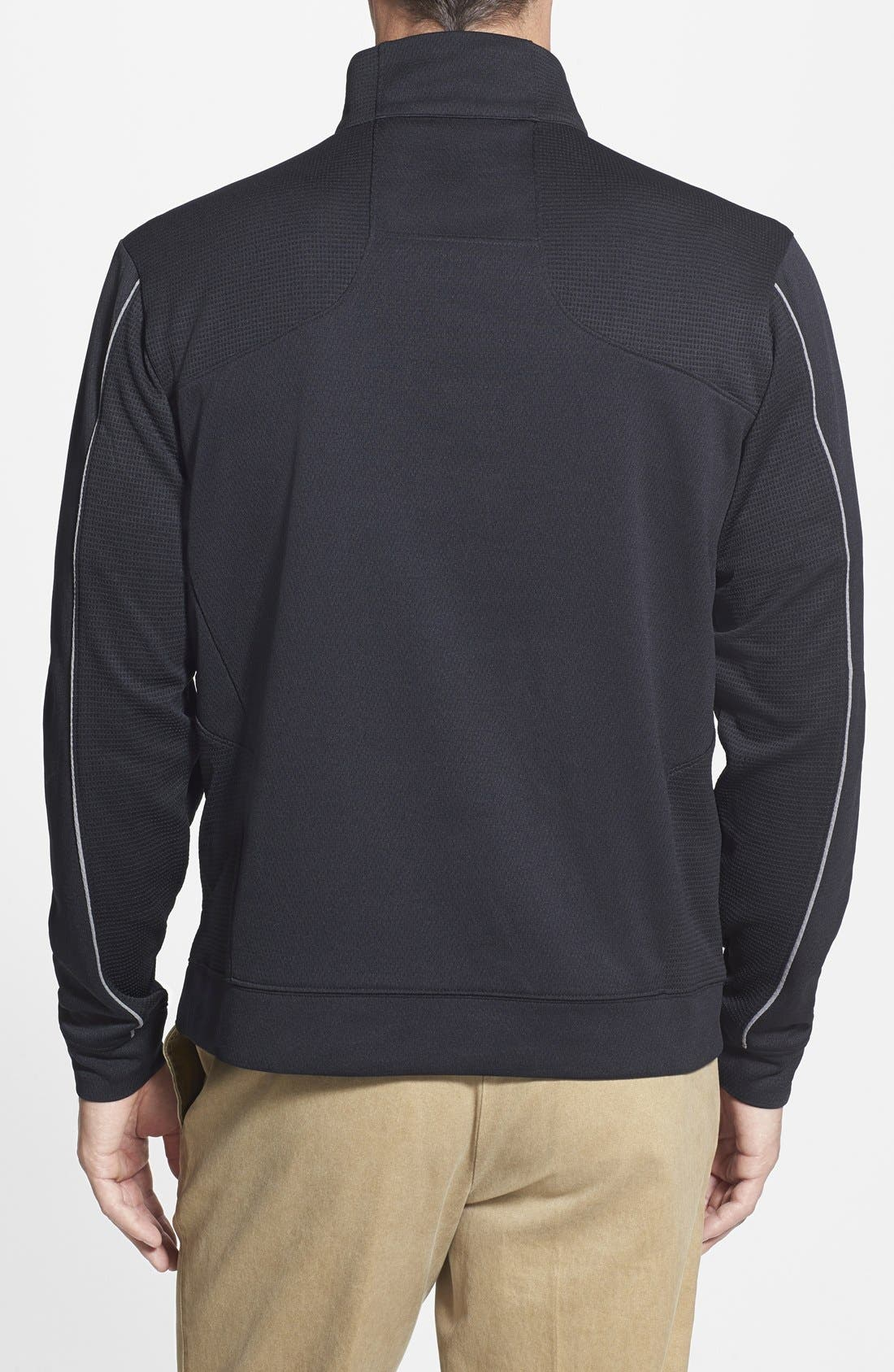 Tampa Bay Buccaneers - Edge DryTec Moisture Wicking Half Zip Pullover,                             Alternate thumbnail 2, color,