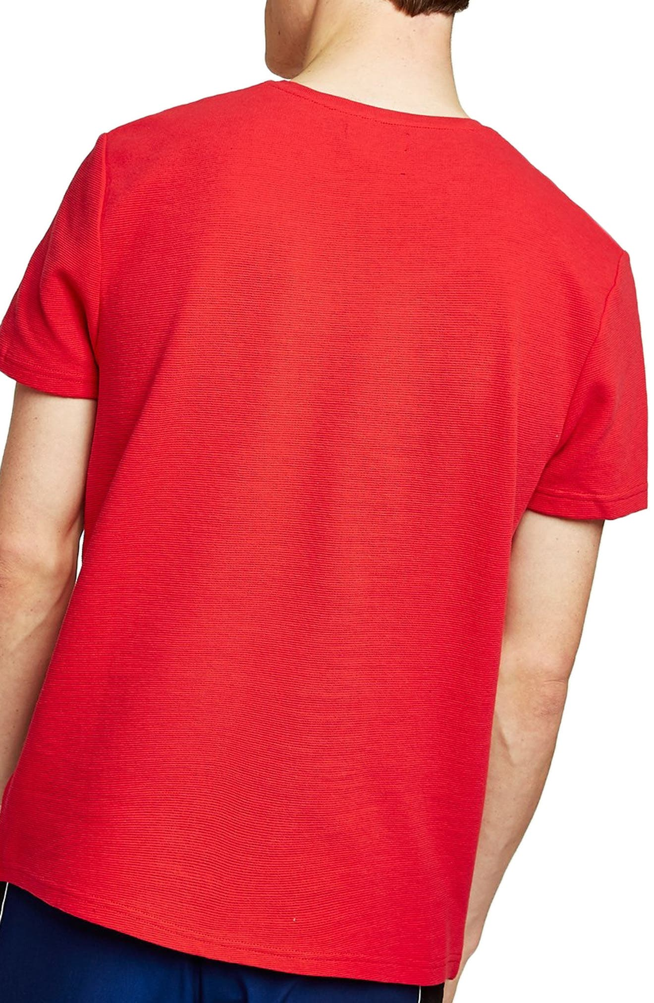 Taping Classic Fit T-Shirt,                             Alternate thumbnail 2, color,                             600
