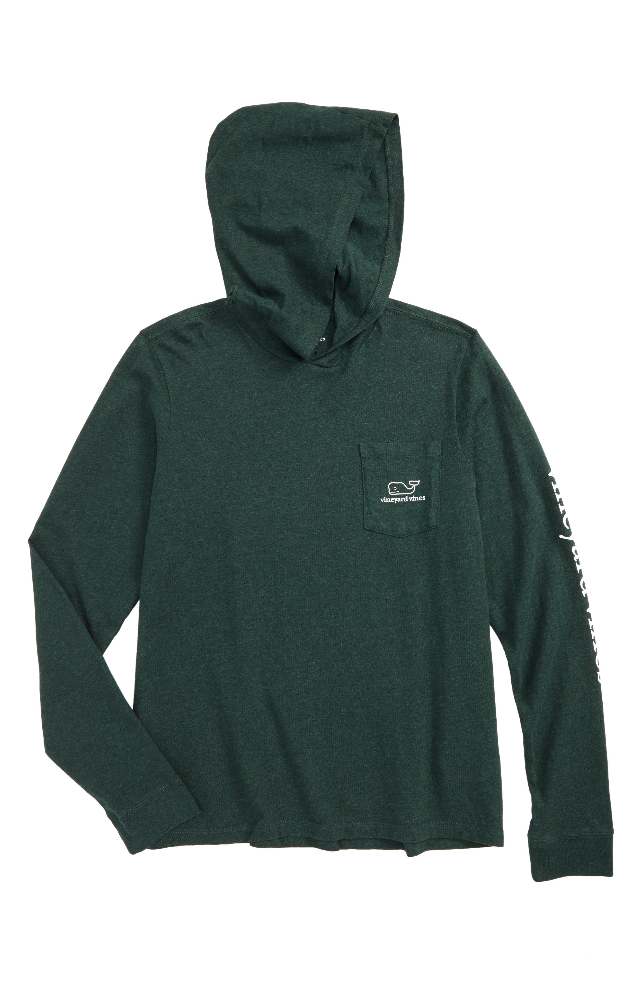Whale Hooded T-Shirt,                             Main thumbnail 1, color,