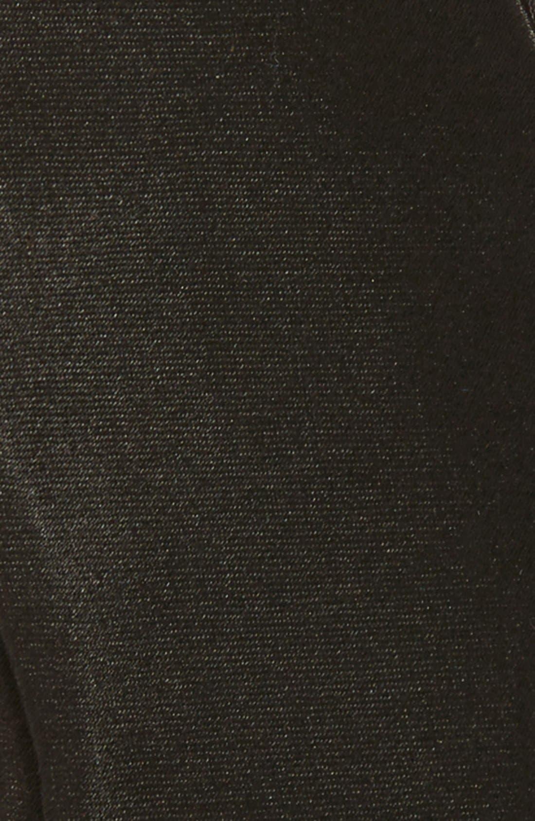 SilkBow Tie,                             Alternate thumbnail 3, color,                             BLACK