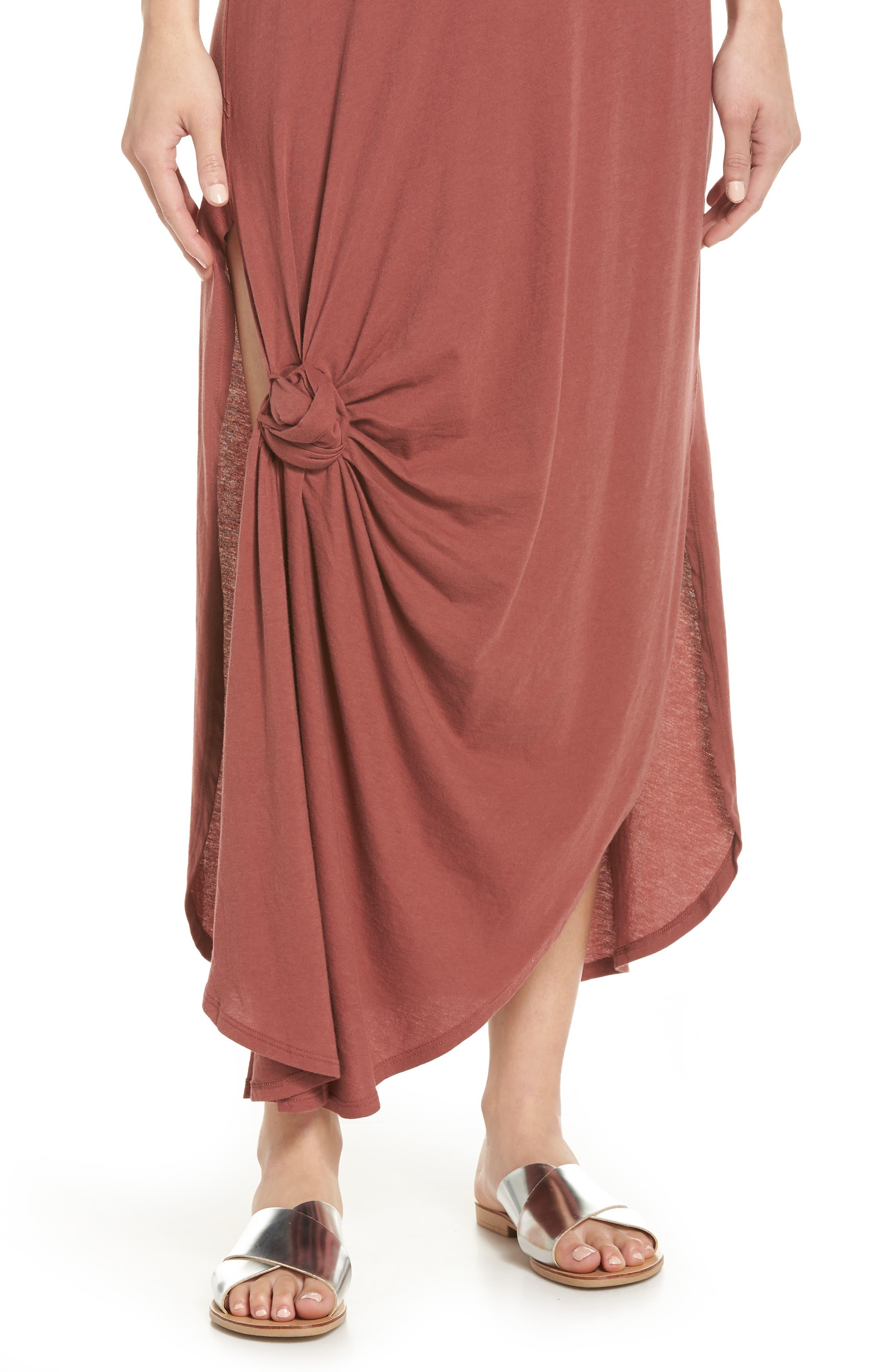 Jones Cover-Up Dress,                             Alternate thumbnail 4, color,                             VINTAGE BERRY
