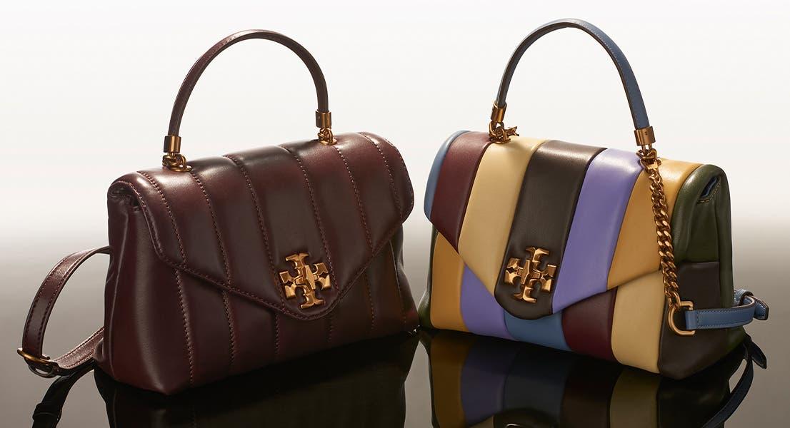 Tory Burch Kira satchels.