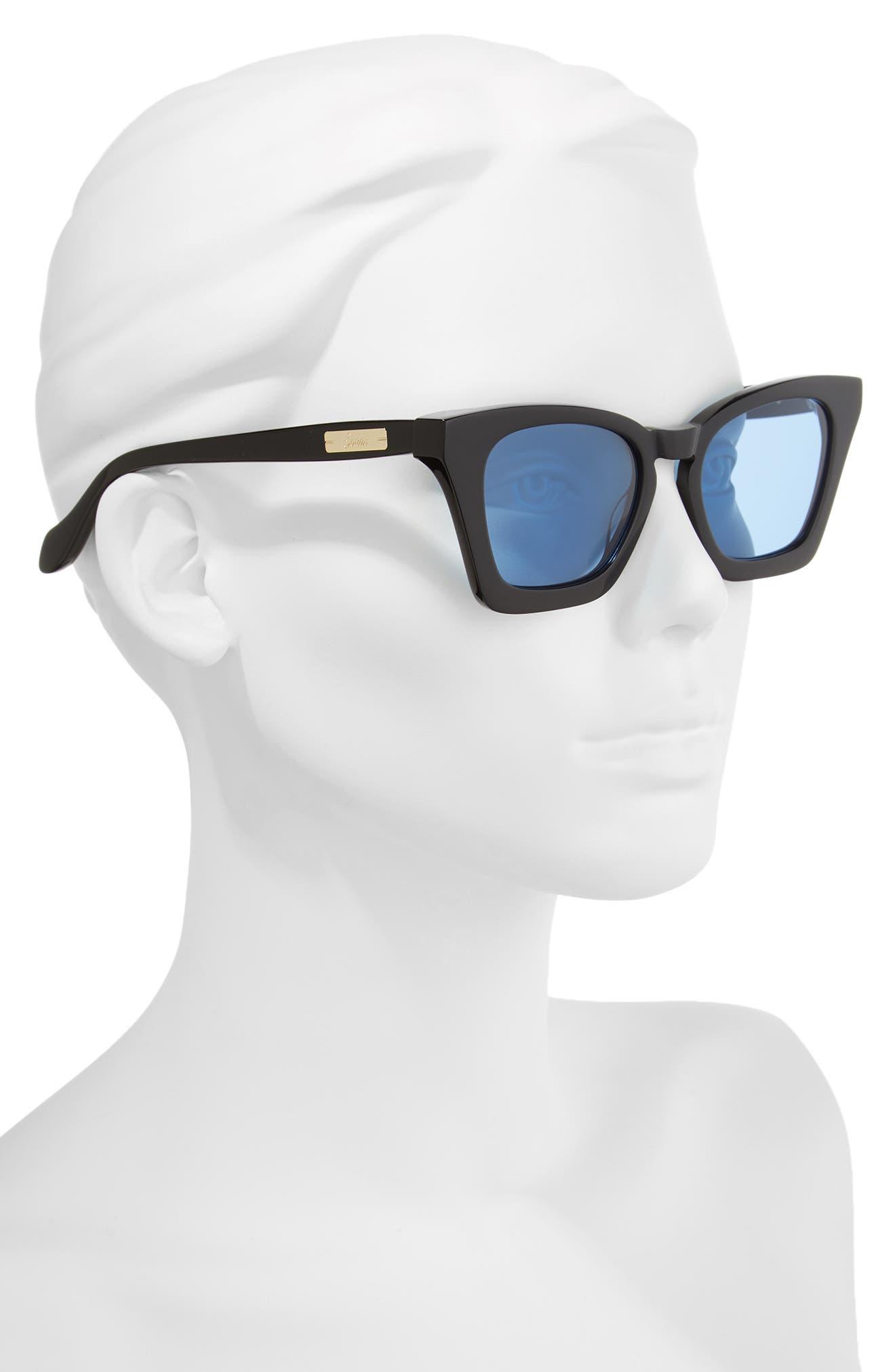 Ginza 50mm Cat Eye Sunglasses,                             Alternate thumbnail 5, color,
