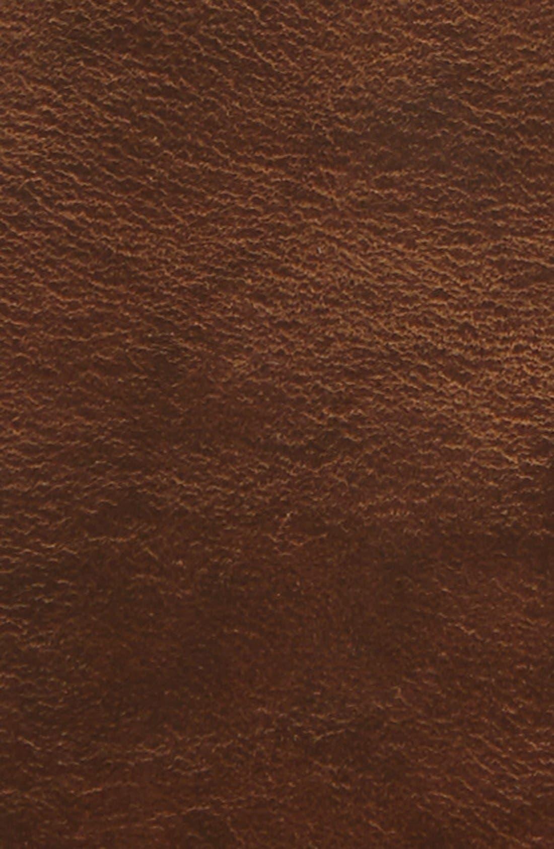 'Gunner' Leather Belt,                             Alternate thumbnail 2, color,                             NATURAL