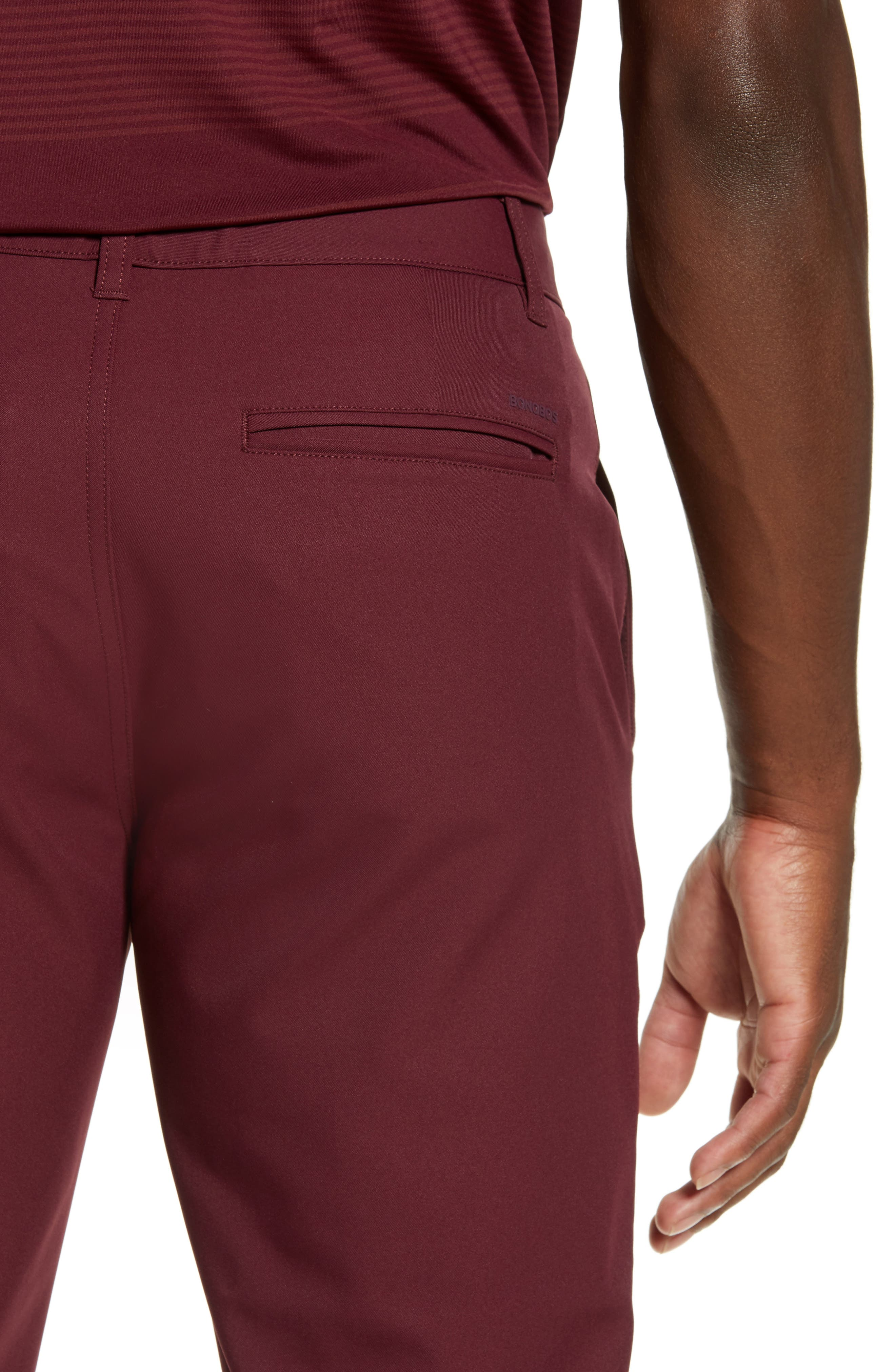 Highland Slim Fit Golf Pants,                             Alternate thumbnail 4, color,                             600
