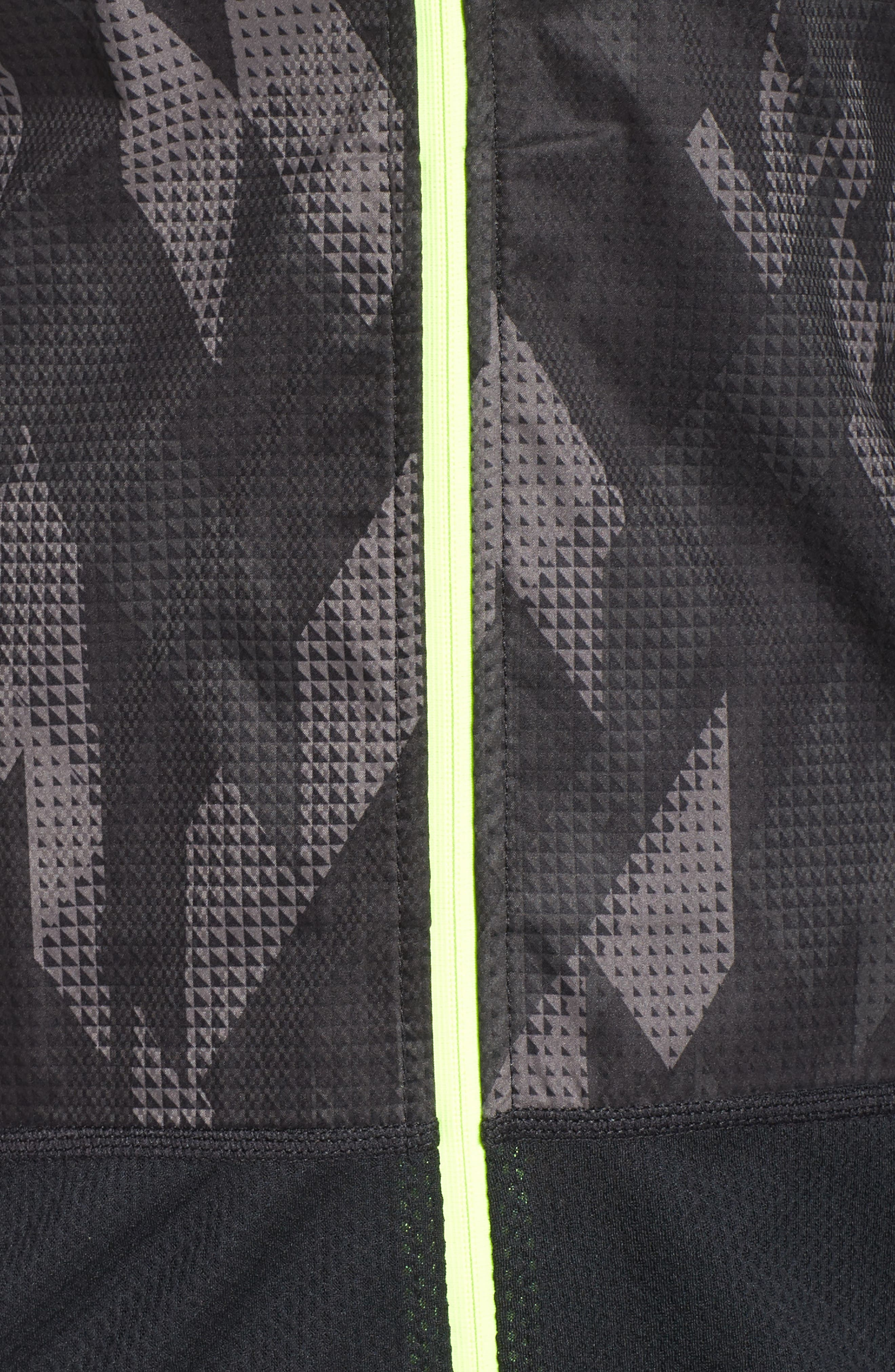 Flex Running Jacket,                             Alternate thumbnail 5, color,                             010