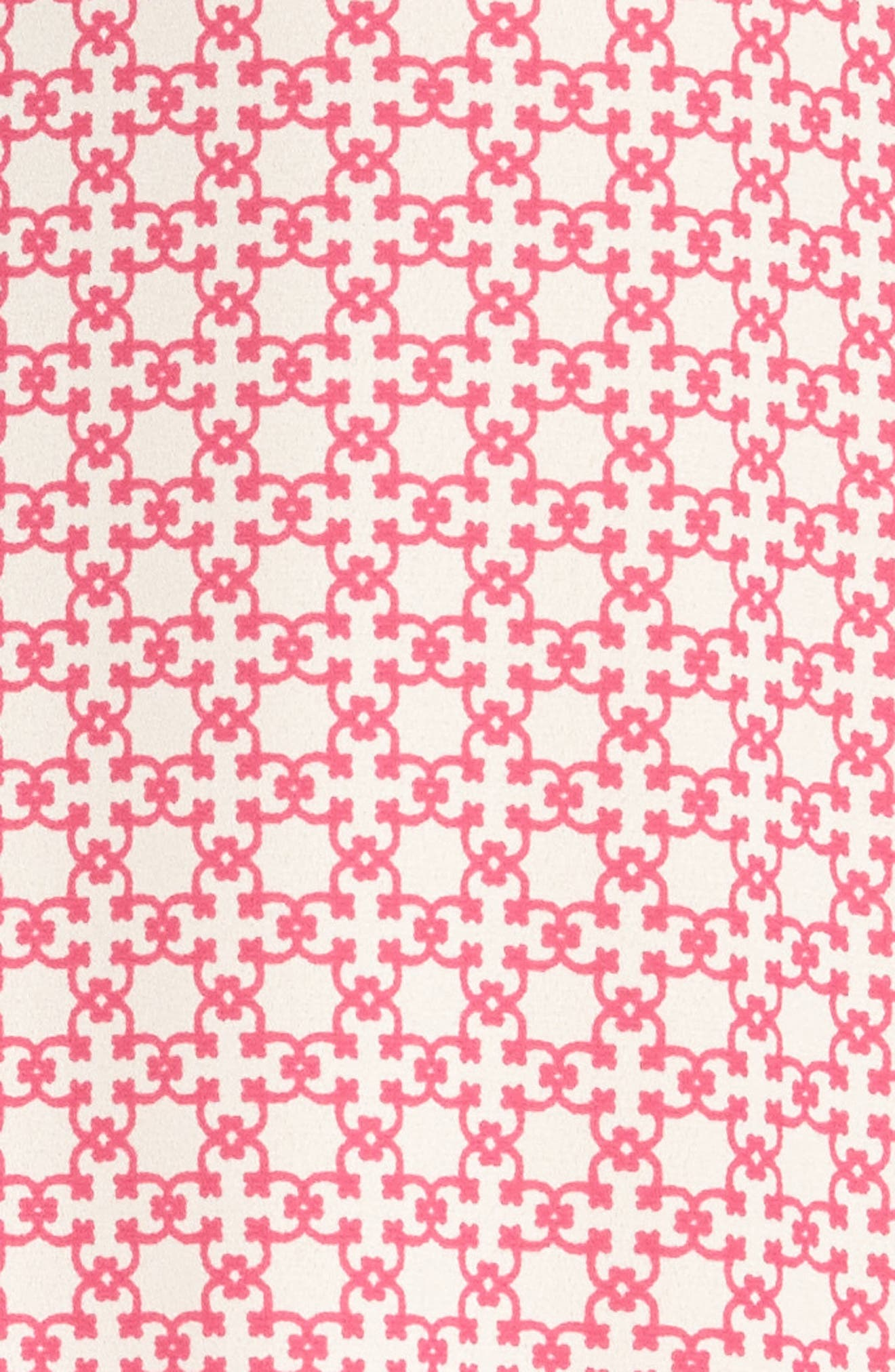 Pleat Back Sleeveless Split Neck Blouse,                             Alternate thumbnail 282, color,