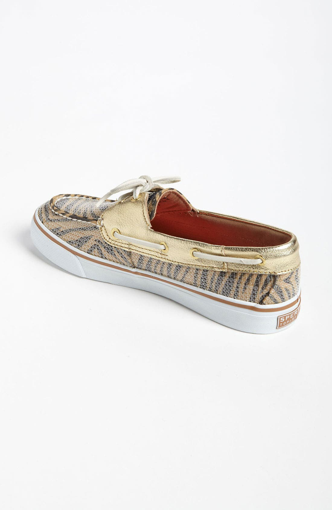 Top-Sider<sup>®</sup> 'Bahama' Sequined Boat Shoe,                             Alternate thumbnail 92, color,