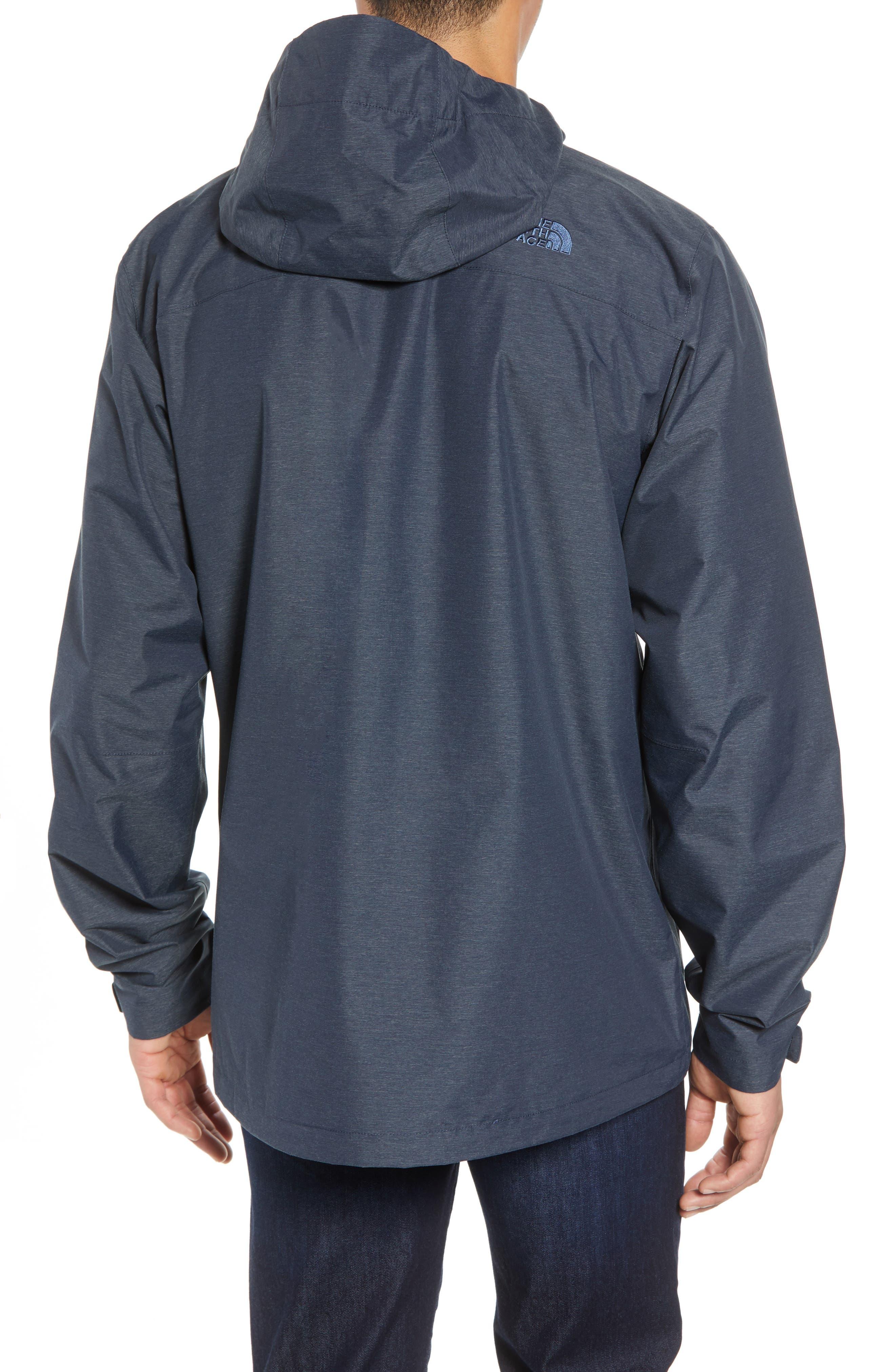 Venture 2 Waterproof Jacket,                             Alternate thumbnail 2, color,                             URBAN NAVY HEATHER