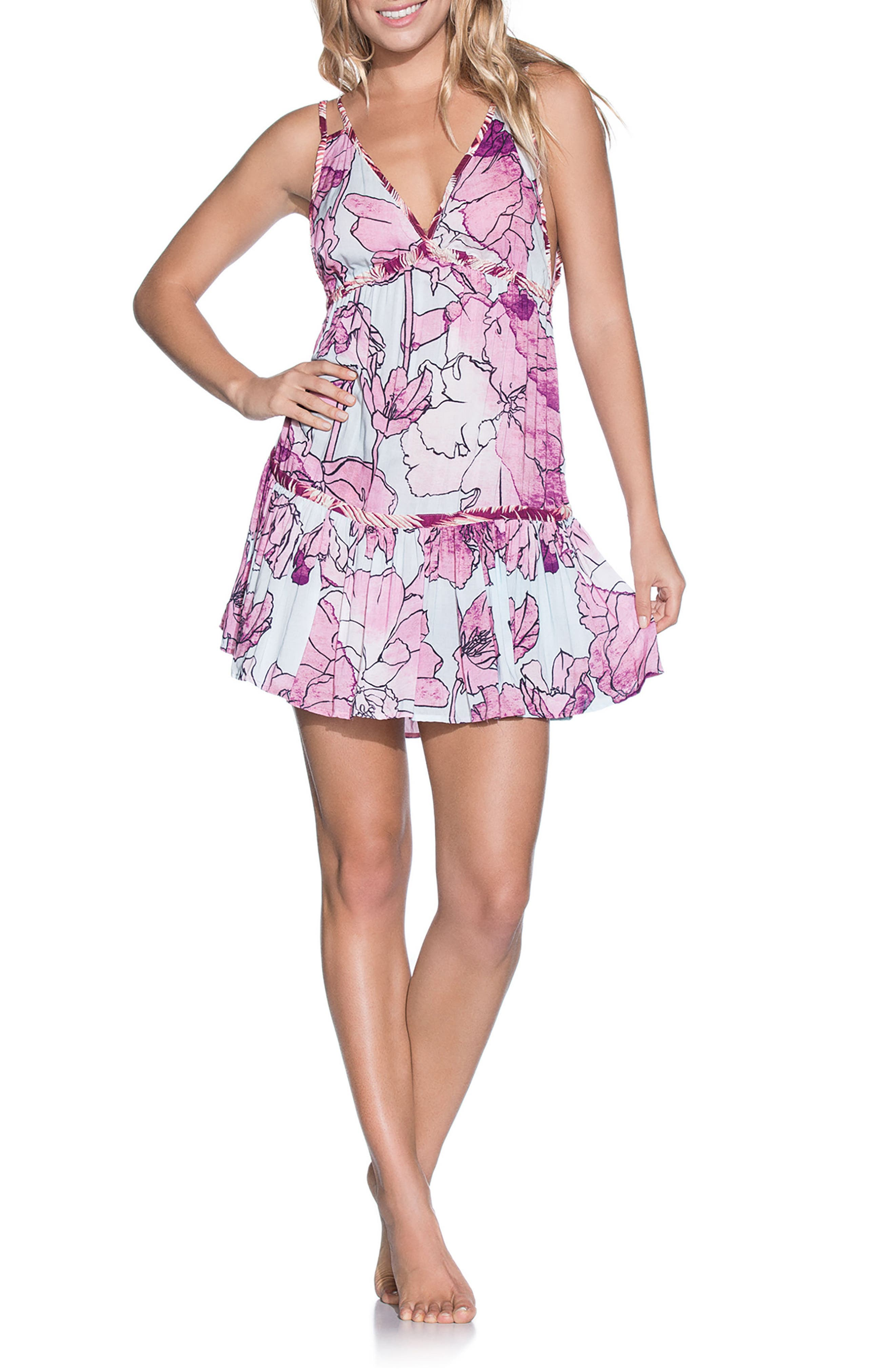 Baby Guppies Cover-Up Dress,                         Main,                         color, 400