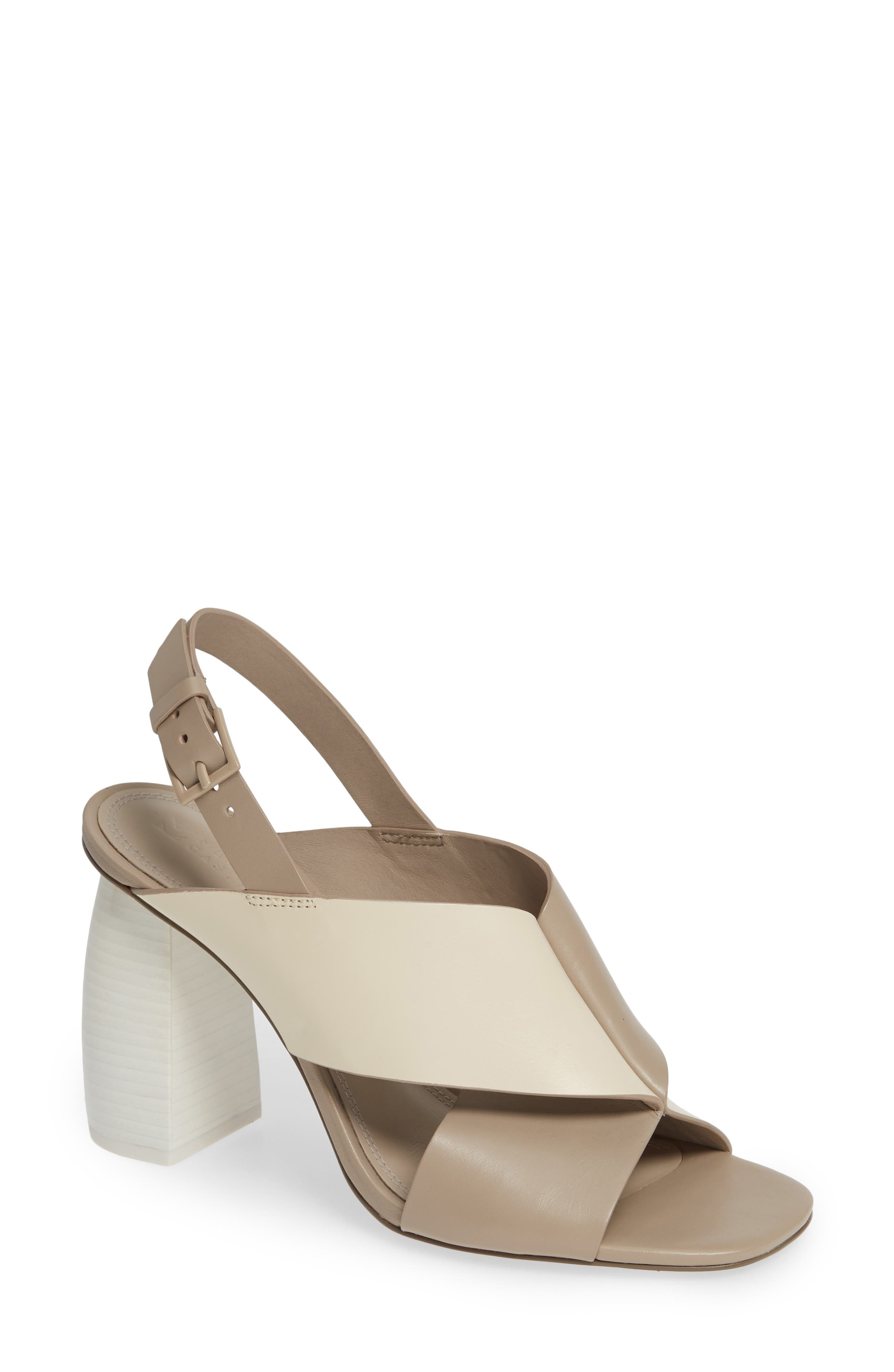 Mercedes Castillo Hae Slingback Sandal- Beige
