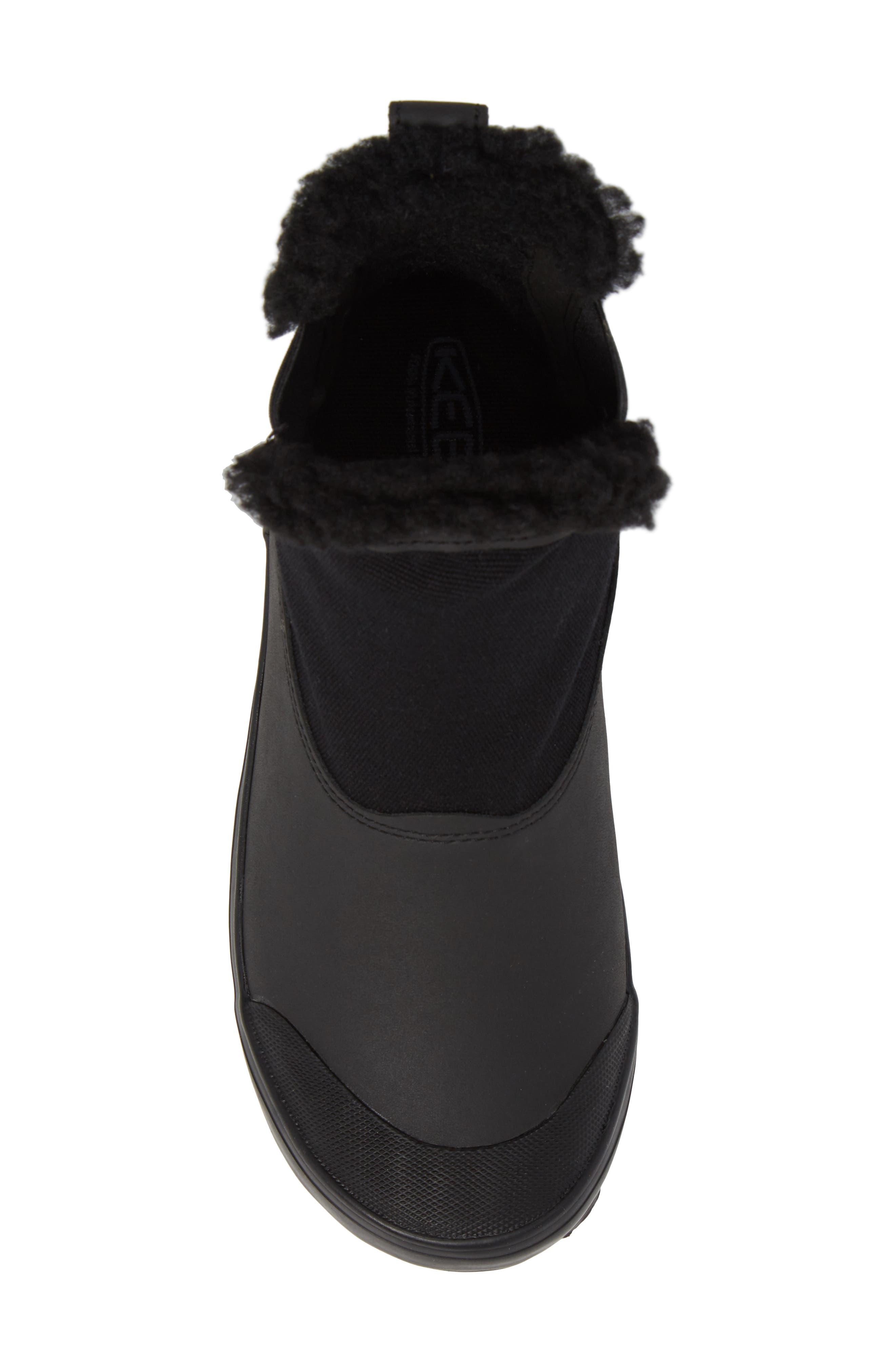 Elsa Chelsea Waterproof Faux Fur Lined Boot,                             Alternate thumbnail 17, color,