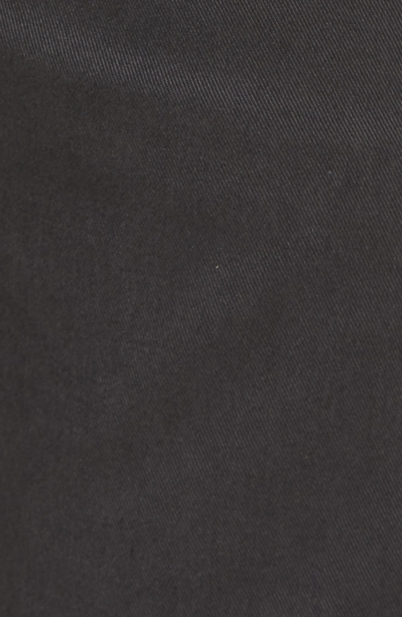 L'Homme Slim Fit Chino Pants,                             Alternate thumbnail 5, color,                             HEMATITE