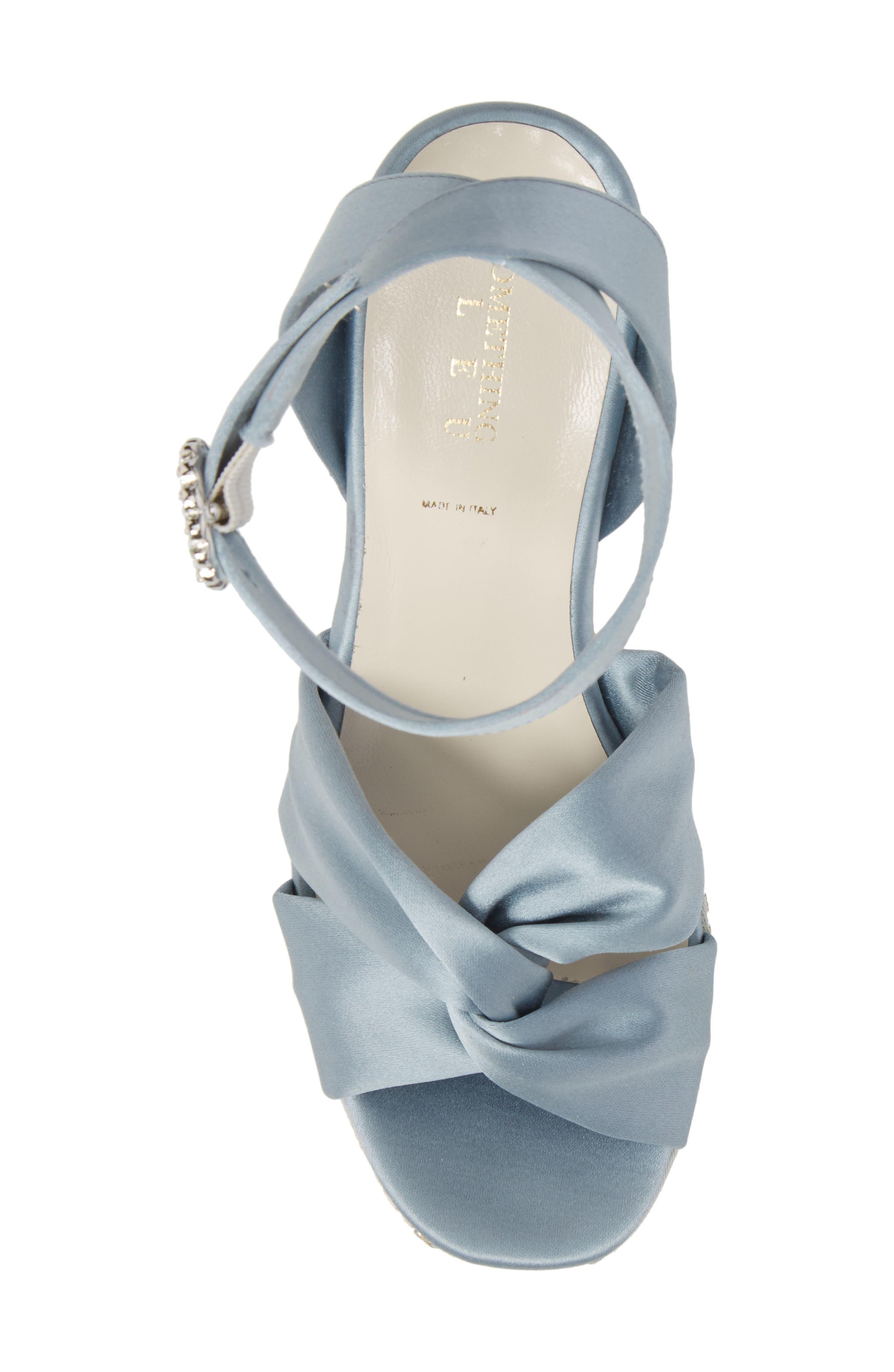 Serena Brocade Platform Sandal,                             Alternate thumbnail 18, color,