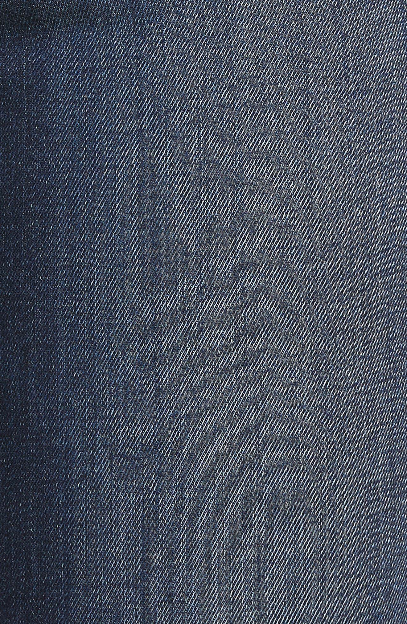Palo Double Bite Crop Jeans,                             Alternate thumbnail 6, color,