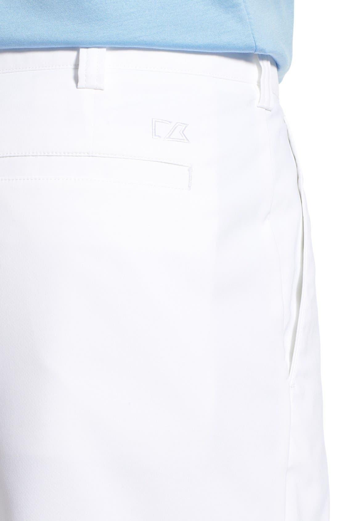 DryTec Shorts,                             Alternate thumbnail 3, color,                             WHITE