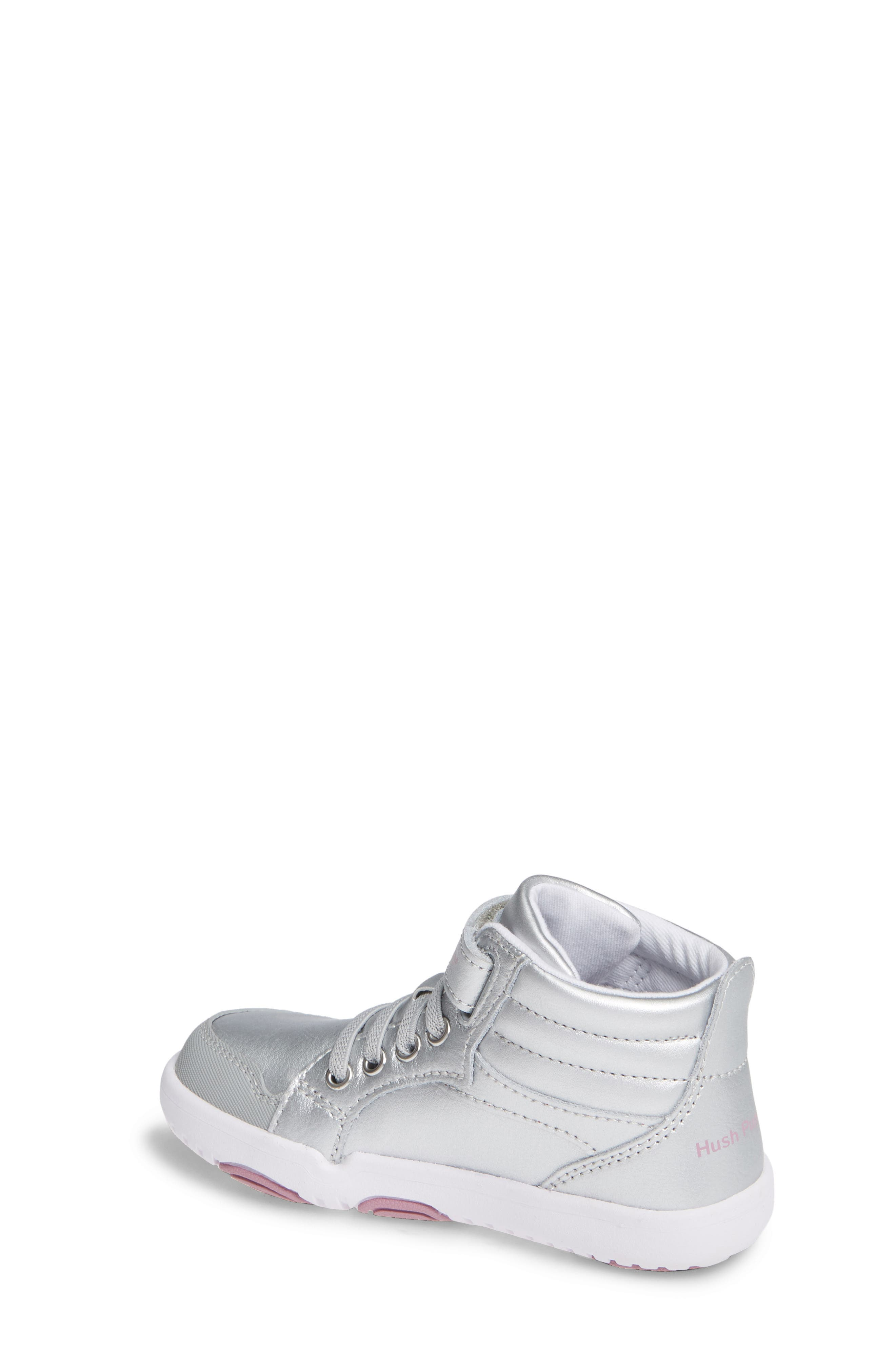 Buddy High Top Sneaker,                             Alternate thumbnail 2, color,                             SILVER