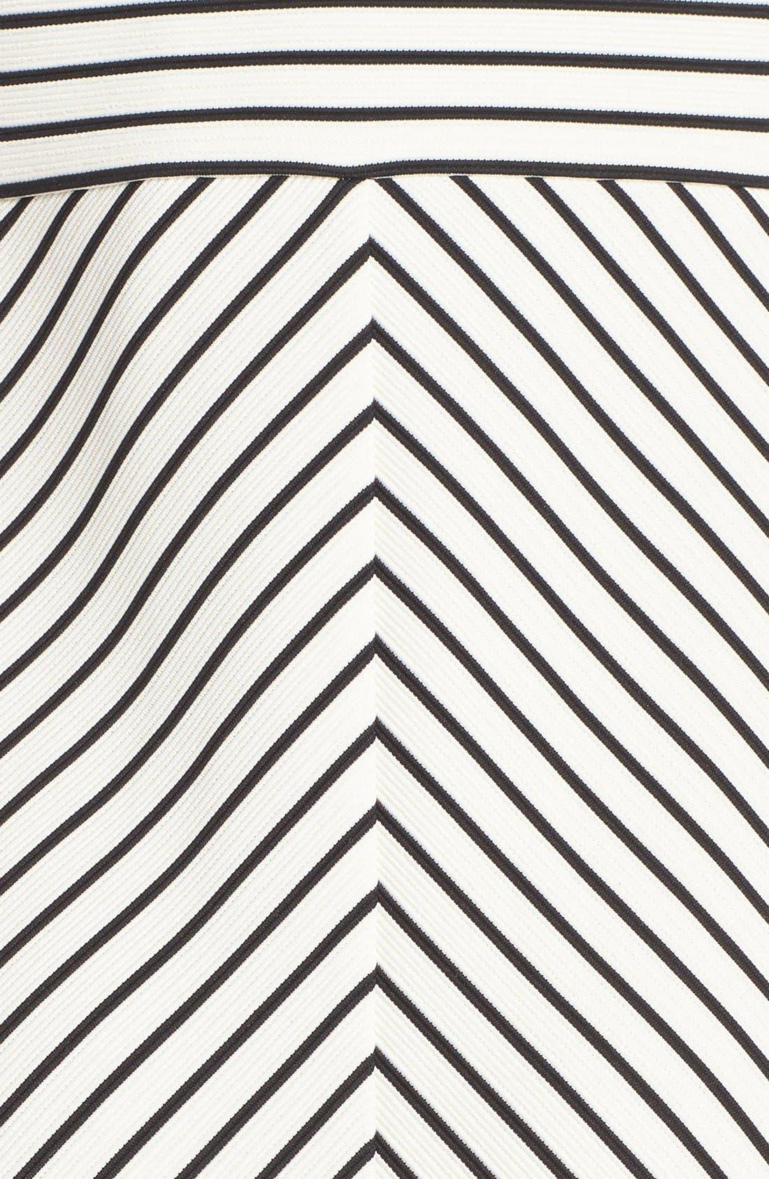 Stripe Ottoman Knit Sundress,                             Alternate thumbnail 4, color,