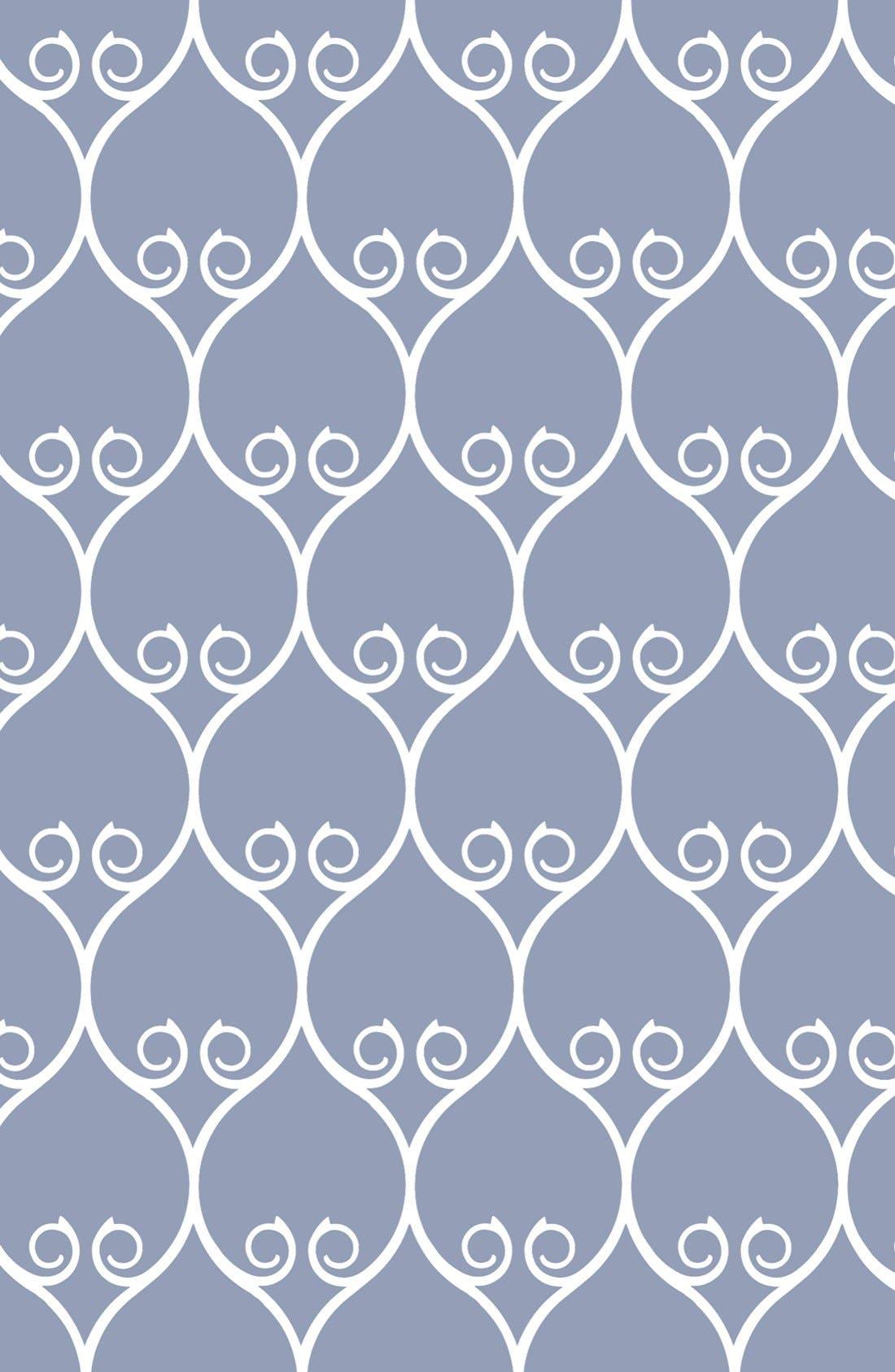 Muslin Infinity Nursing Scarf,                             Alternate thumbnail 5, color,                             BLUE/ WHITE