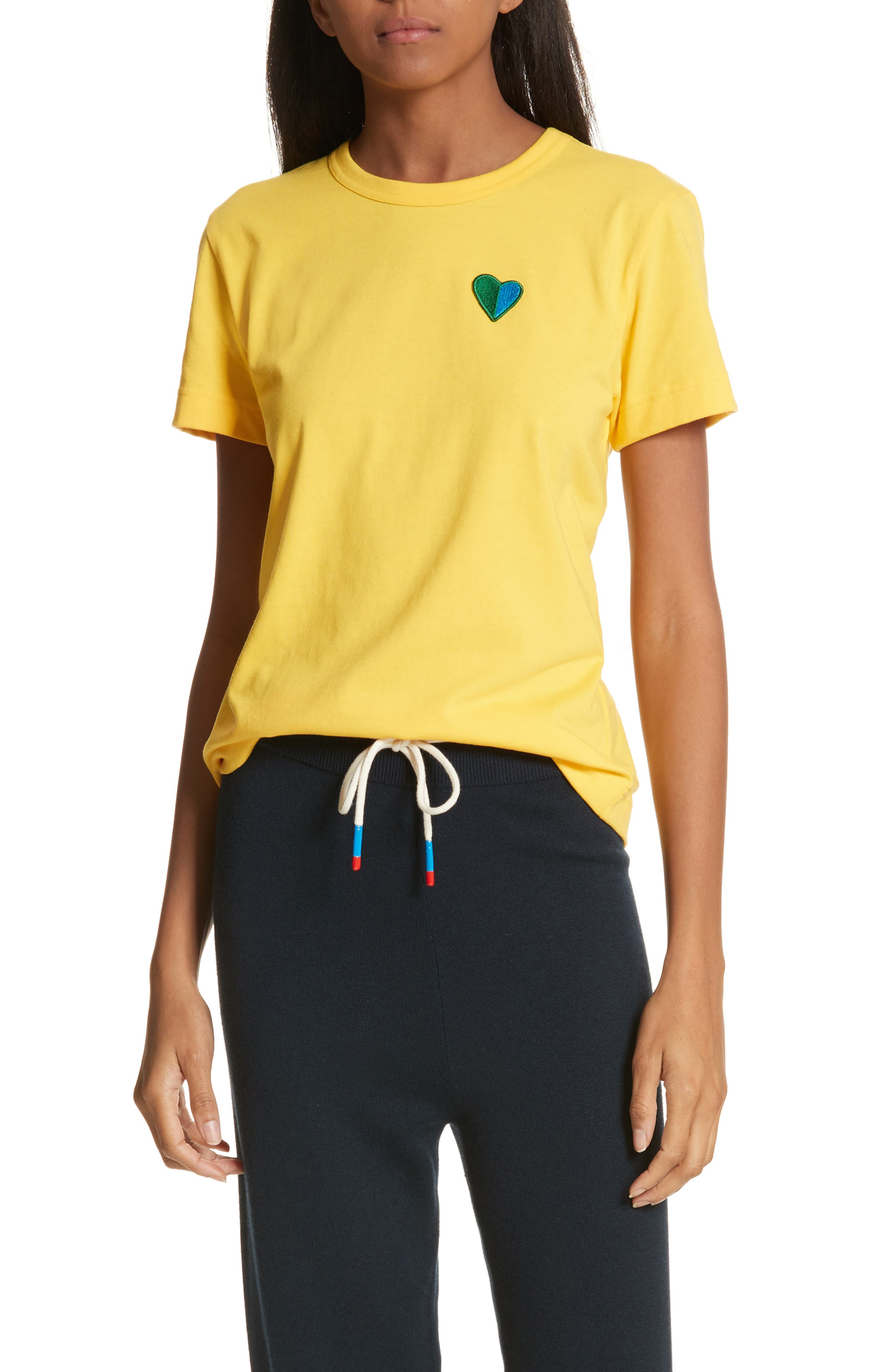 Heart Patch Tee,                         Main,                         color, 707