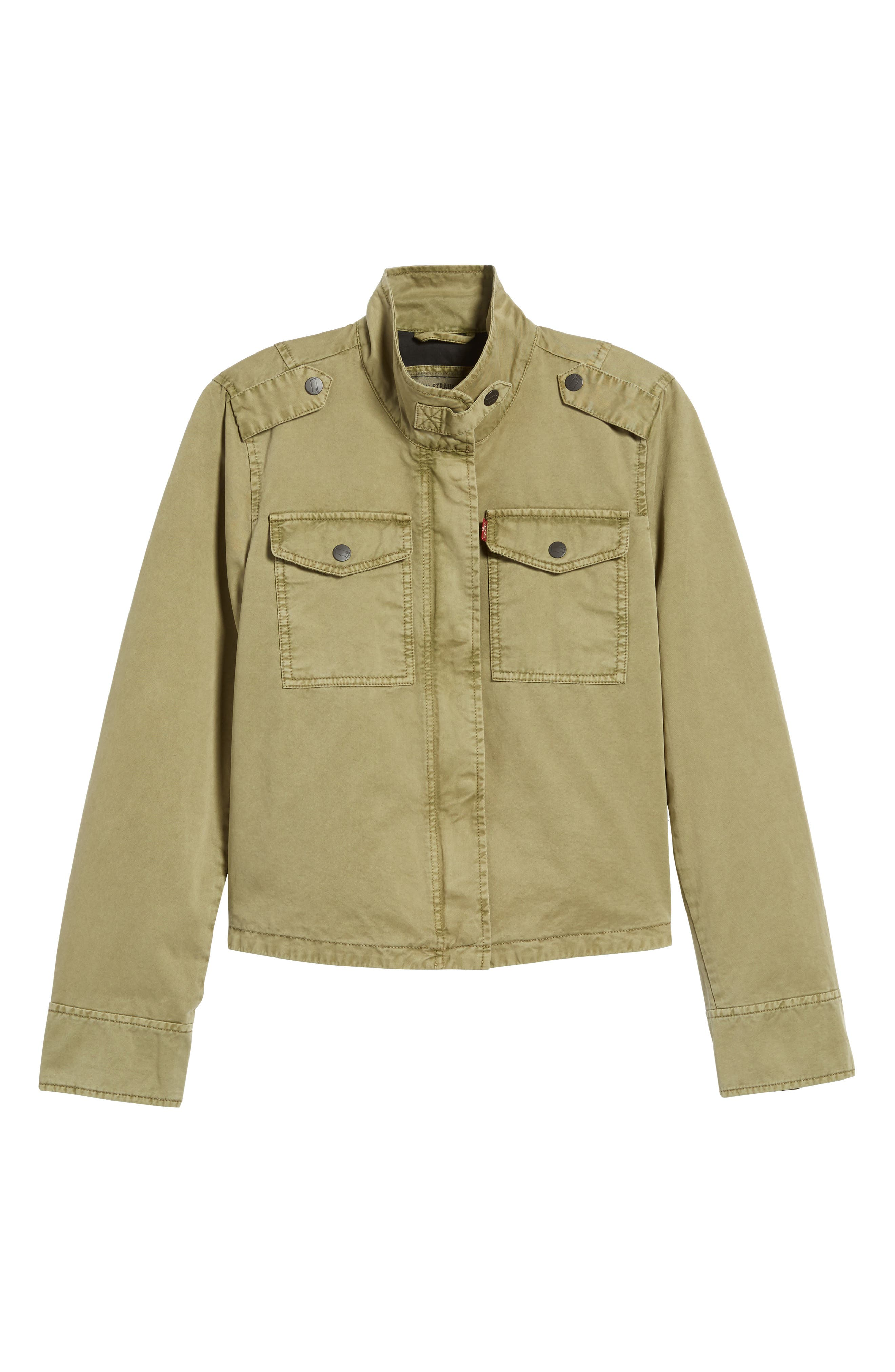 Crop Military Jacket,                             Alternate thumbnail 26, color,